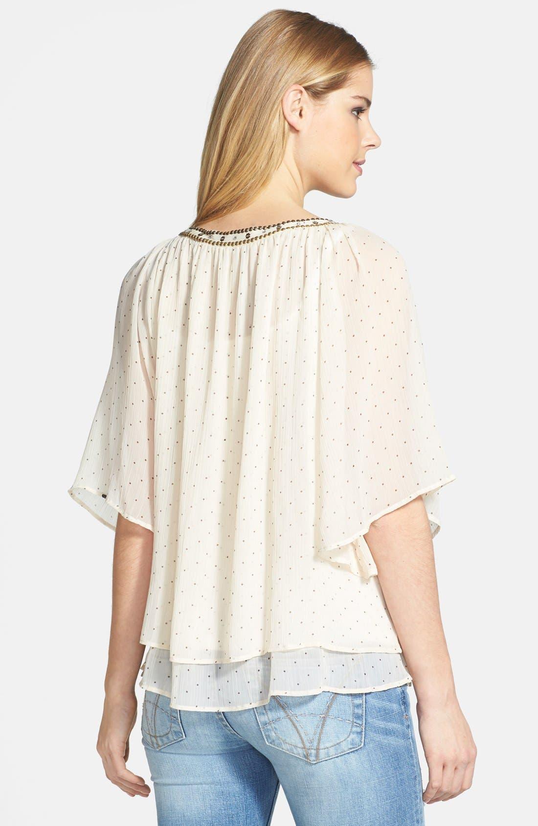 Alternate Image 2  - Dex Embellished Peasant Blouse