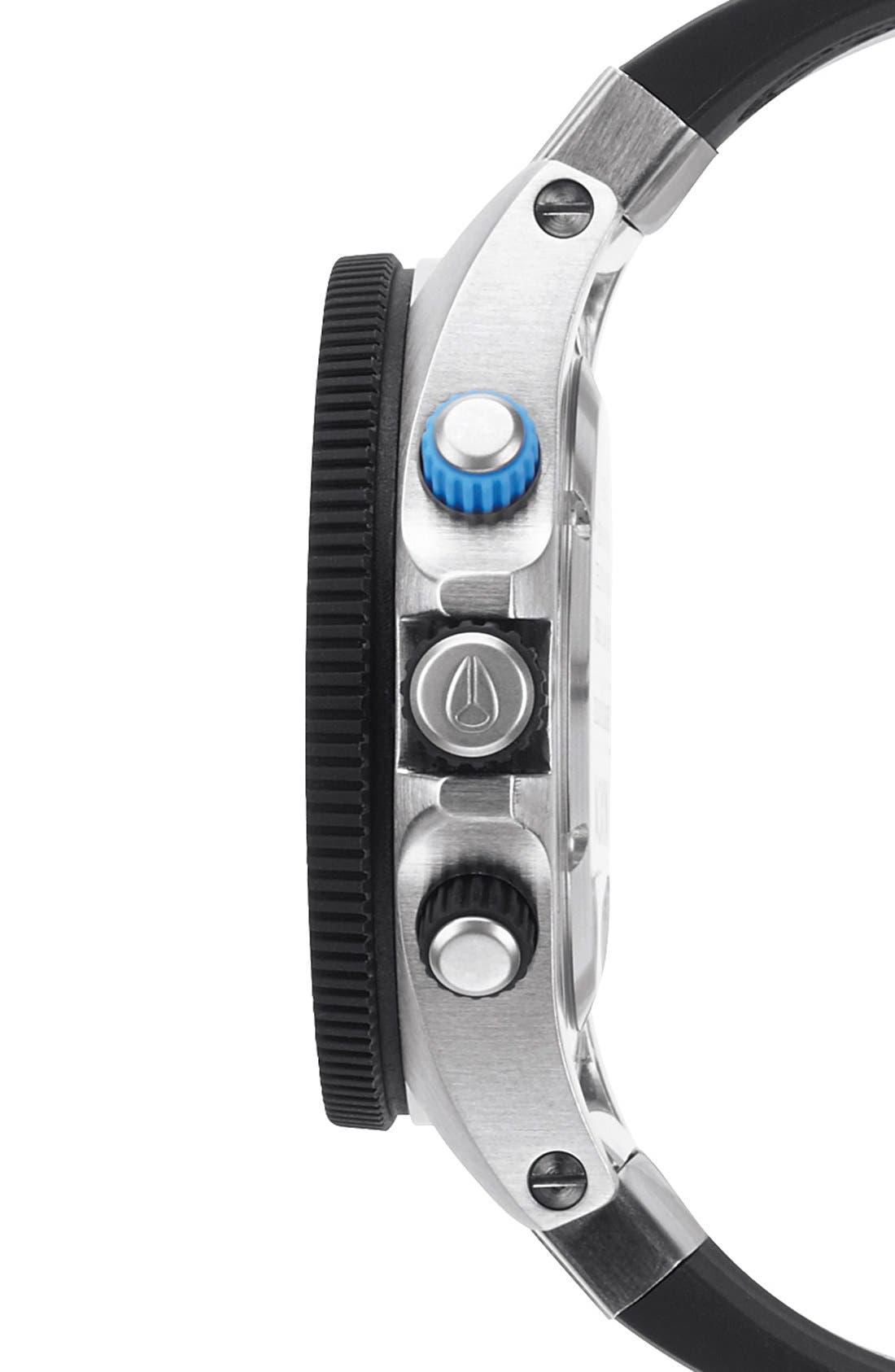 Alternate Image 3  - Nixon 'Rover' Chronograph Strap Watch, 44mm