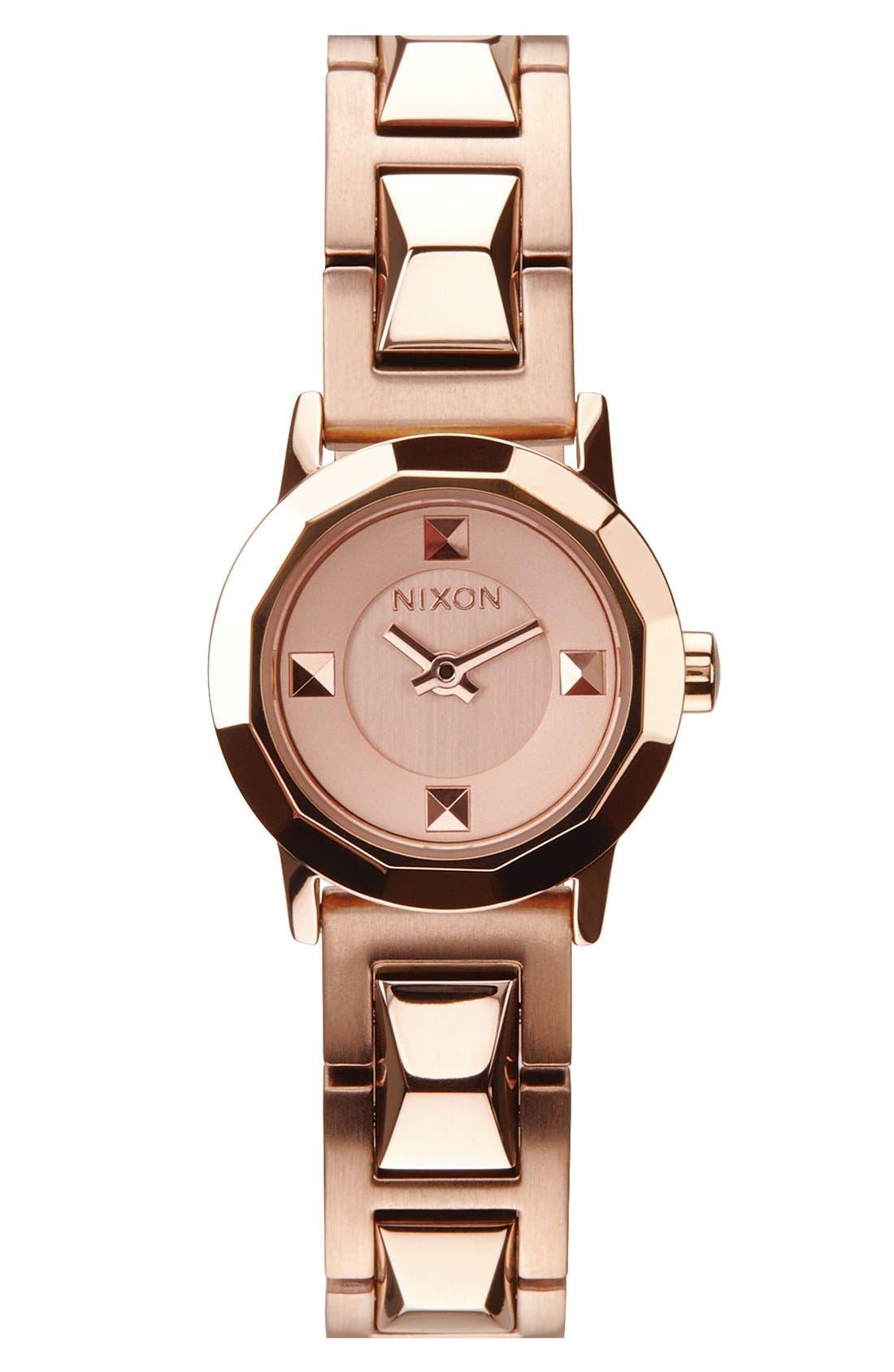 Alternate Image 1 Selected - Nixon 'The Mini B' Bracelet Watch, 22mm