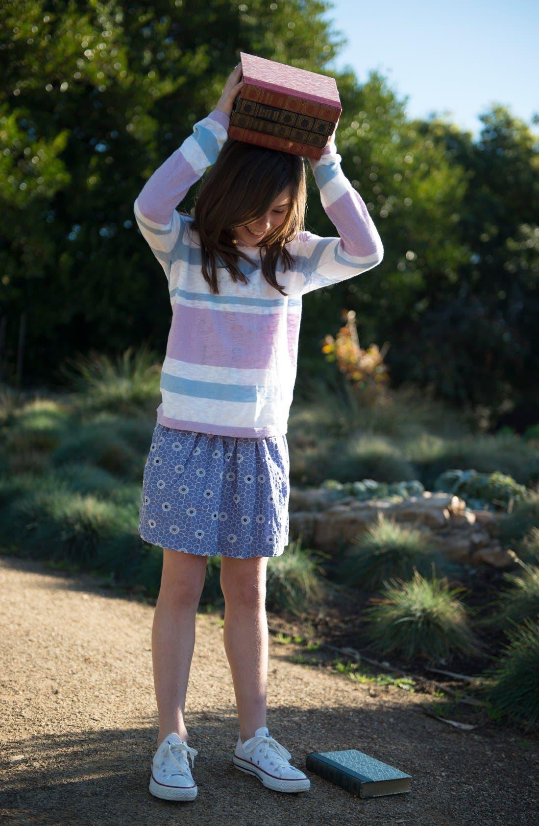 Alternate Image 3  - Peek 'Scarlette' Hoodie (Toddler Girls, Little Girls &  Big Girls)