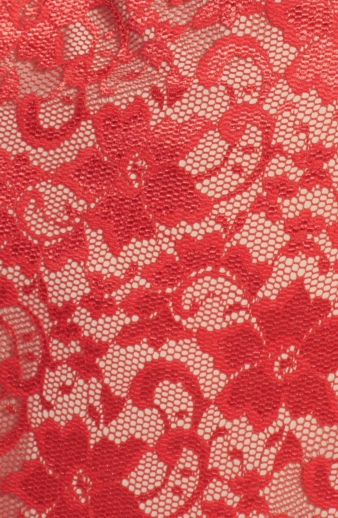 Alternate Image 3  - ABS by Allen Schwartz Lace Maxi Dress (Plus Size)