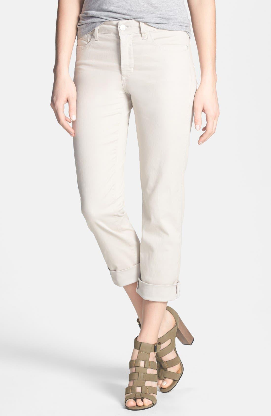 Alternate Image 1 Selected - NYDJ 'Bobbie' Stretch Boyfriend Jeans (Regular & Petite)