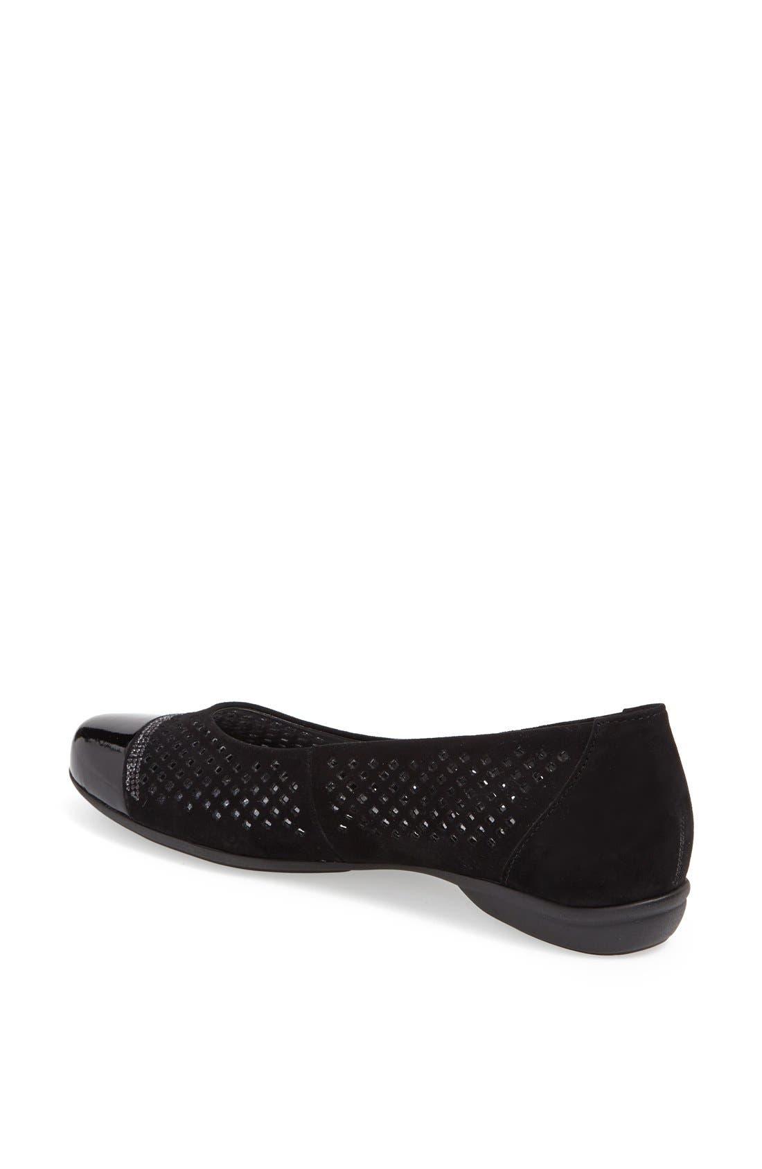 Alternate Image 2  - Gabor Leather Ballet Flat