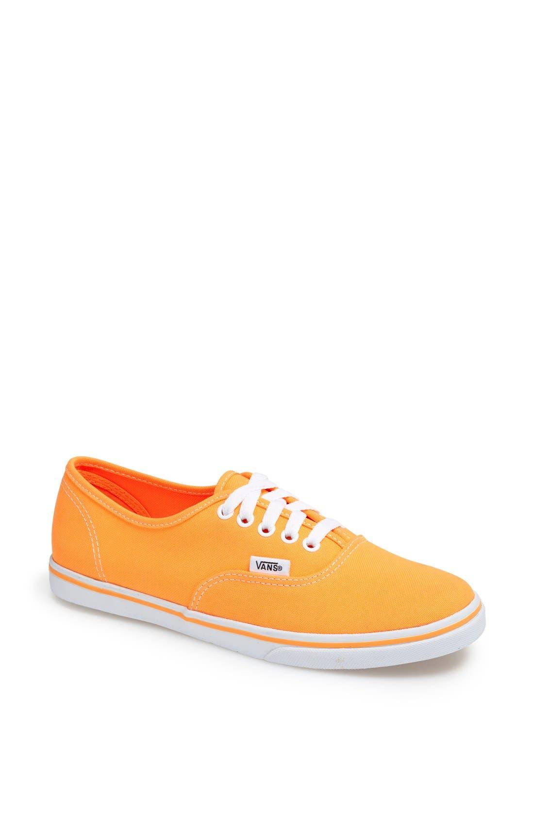Main Image - Vans 'Authentic Lo Pro - Neon' Sneaker (Women)
