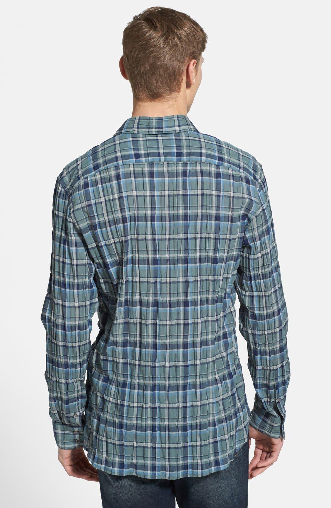 Alternate Image 2  - John Varvatos Star USA 'Basic Point' Slim Fit Sport Shirt