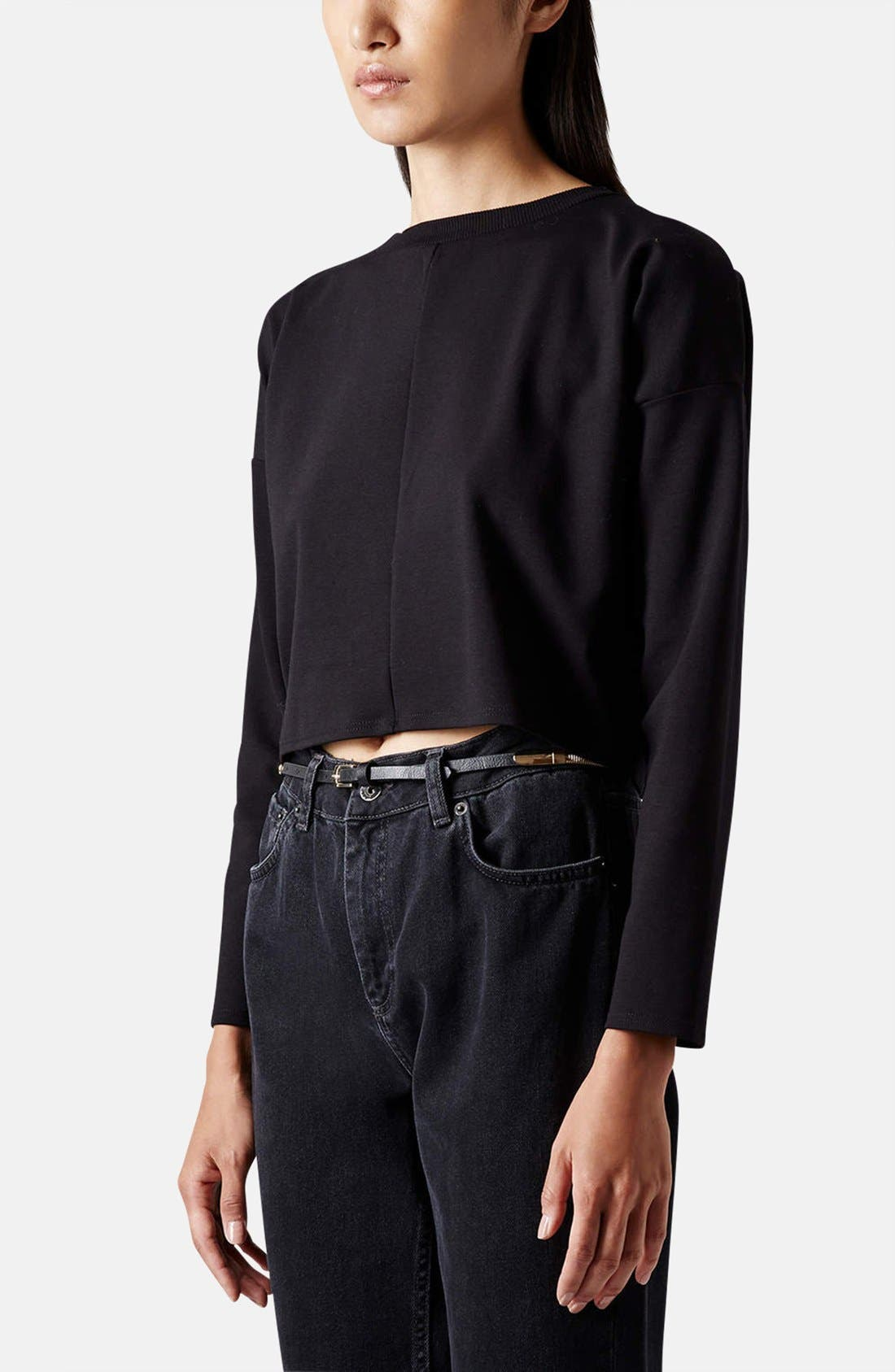 Alternate Image 2  - Topshop Stretch Belt