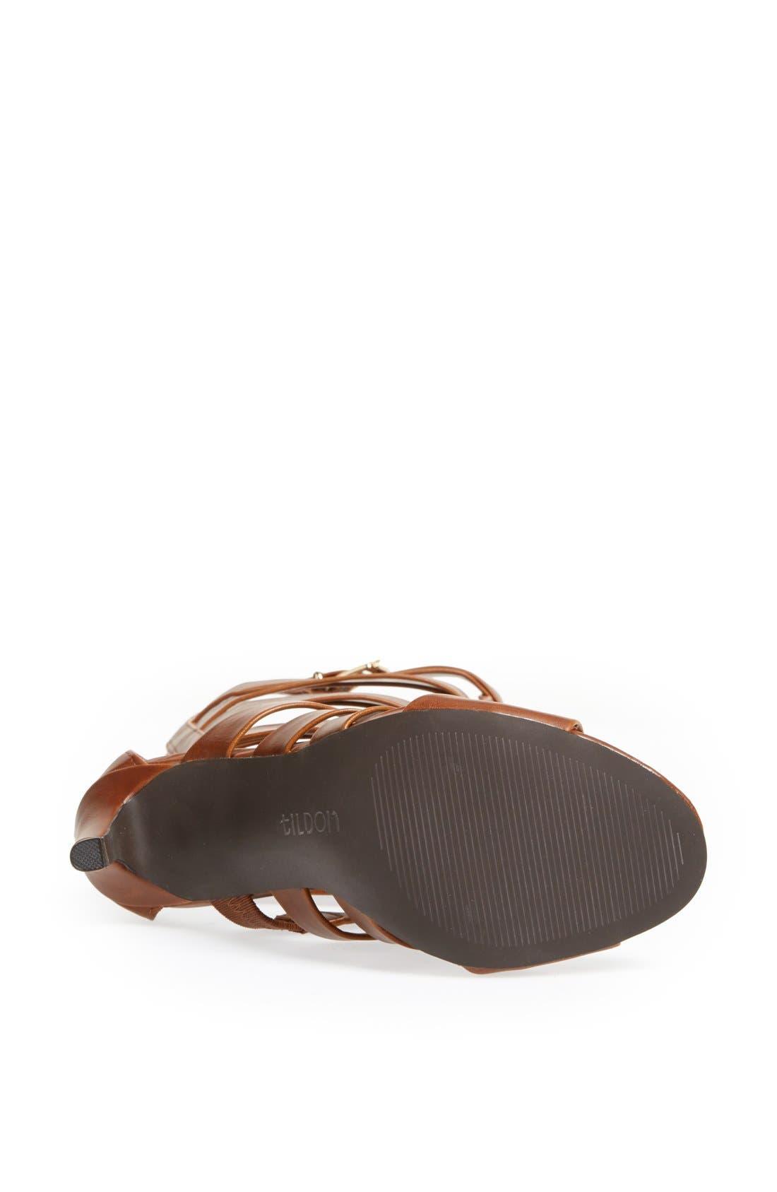 Alternate Image 4  - Tildon 'Strappy' Gladiator Sandal