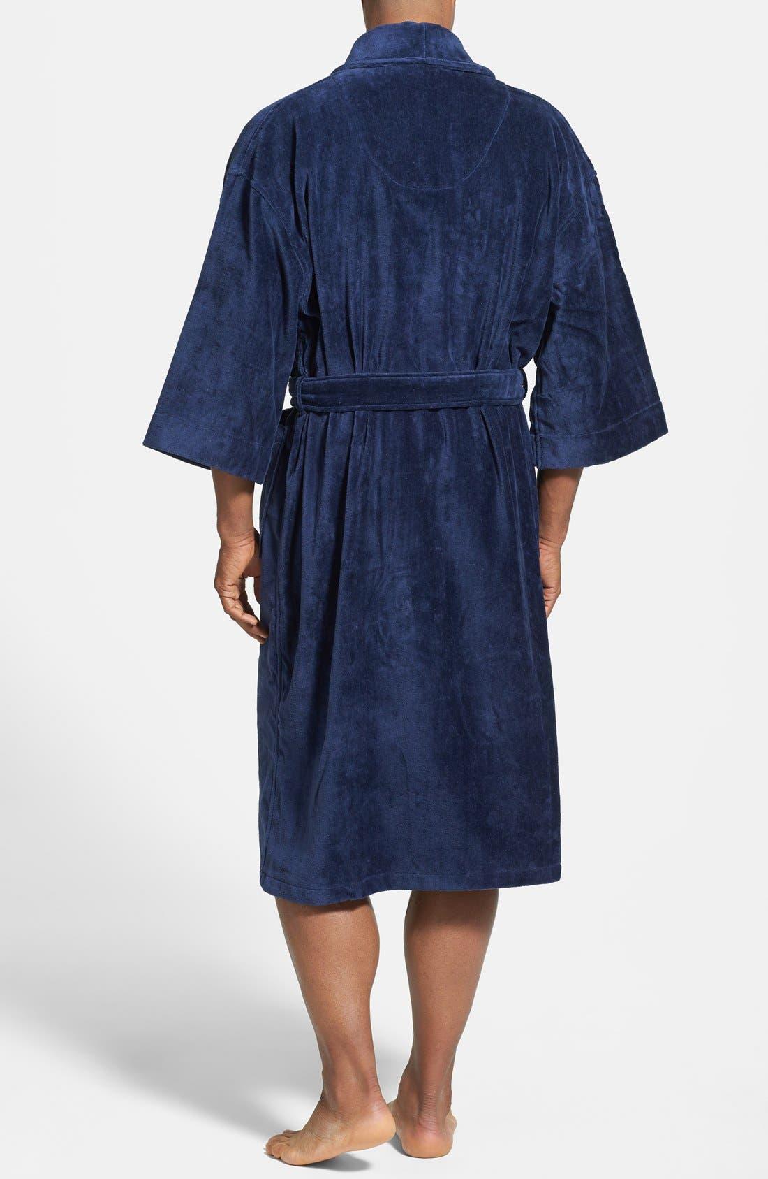 Alternate Image 2  - Majestic International Terry Velour Robe