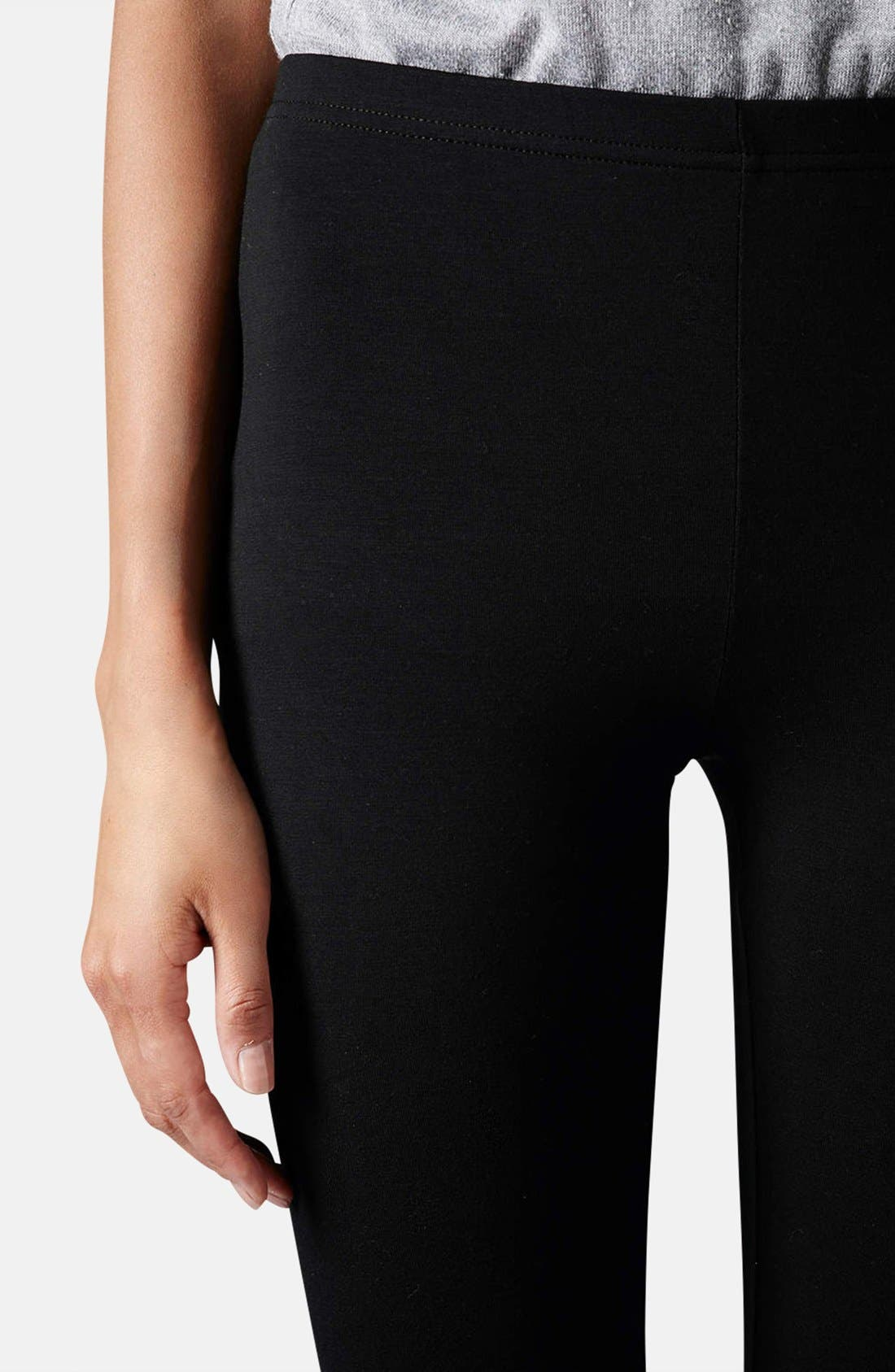 Alternate Image 4  - Topshop Ankle Leggings