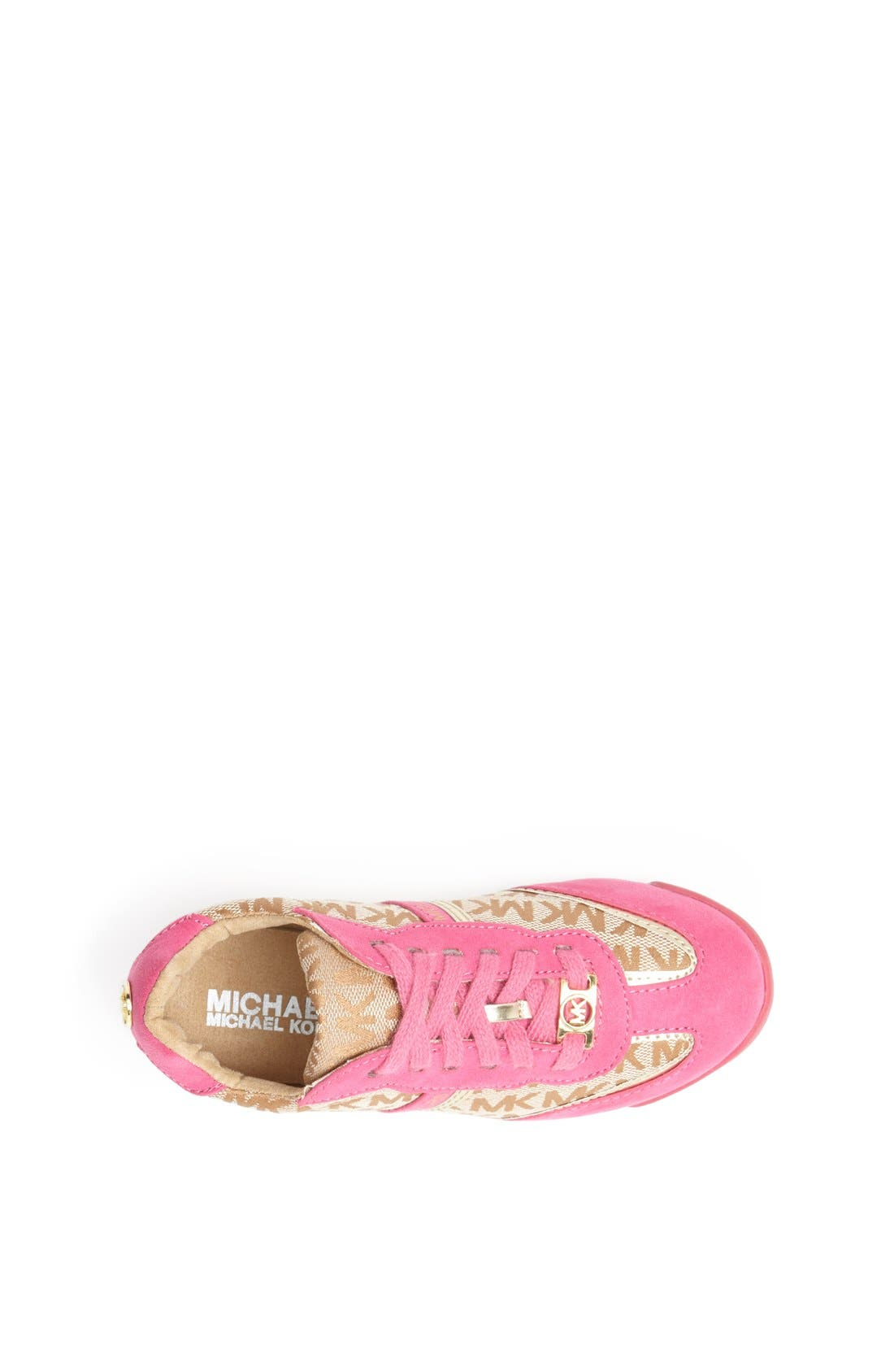 Alternate Image 3  - MICHAEL Michael Kors 'Alexia' Sneaker (Walker, Toddler, Little Kid & Big Kid)