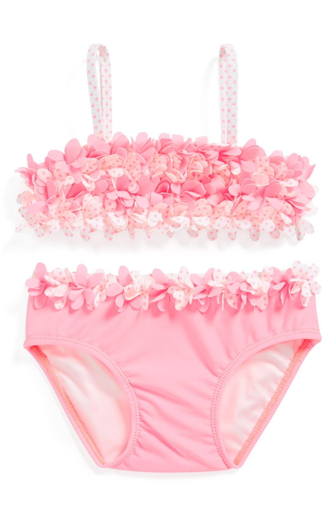 Alternate Image 1 Selected - Kate Mack Two-Piece Swimsuit (Baby Girls)
