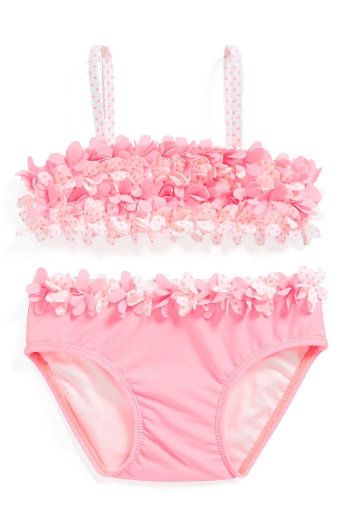 Main Image - Kate Mack Two-Piece Swimsuit (Baby Girls)