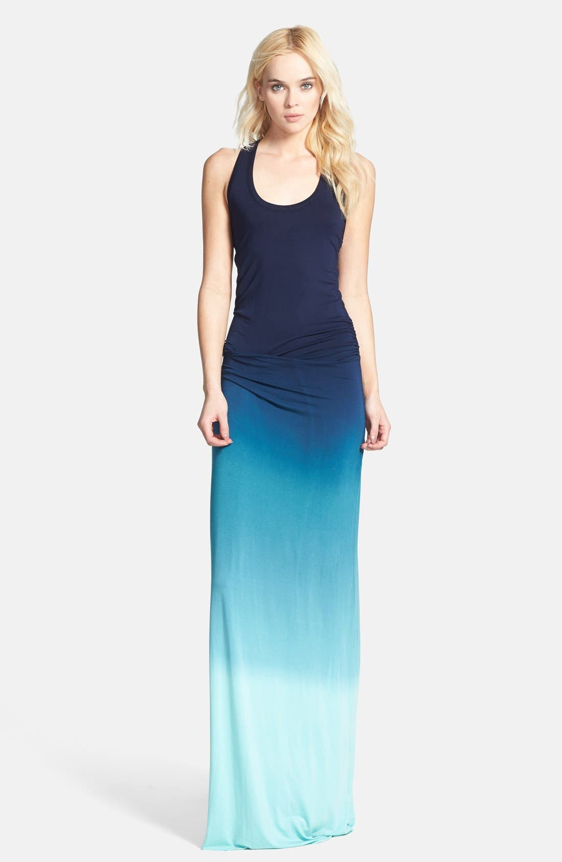 Main Image - Young, Fabulous & Broke 'Hamptons' Racerback Jersey Maxi Dress