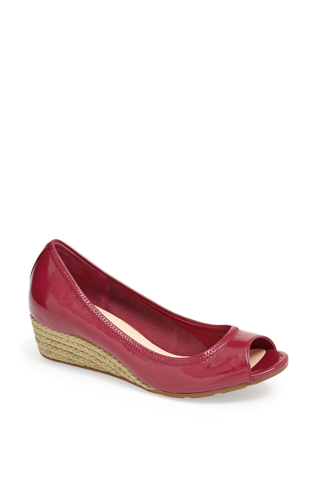 Main Image - Cole Haan 'Air Tali' Peeptoe Wedge
