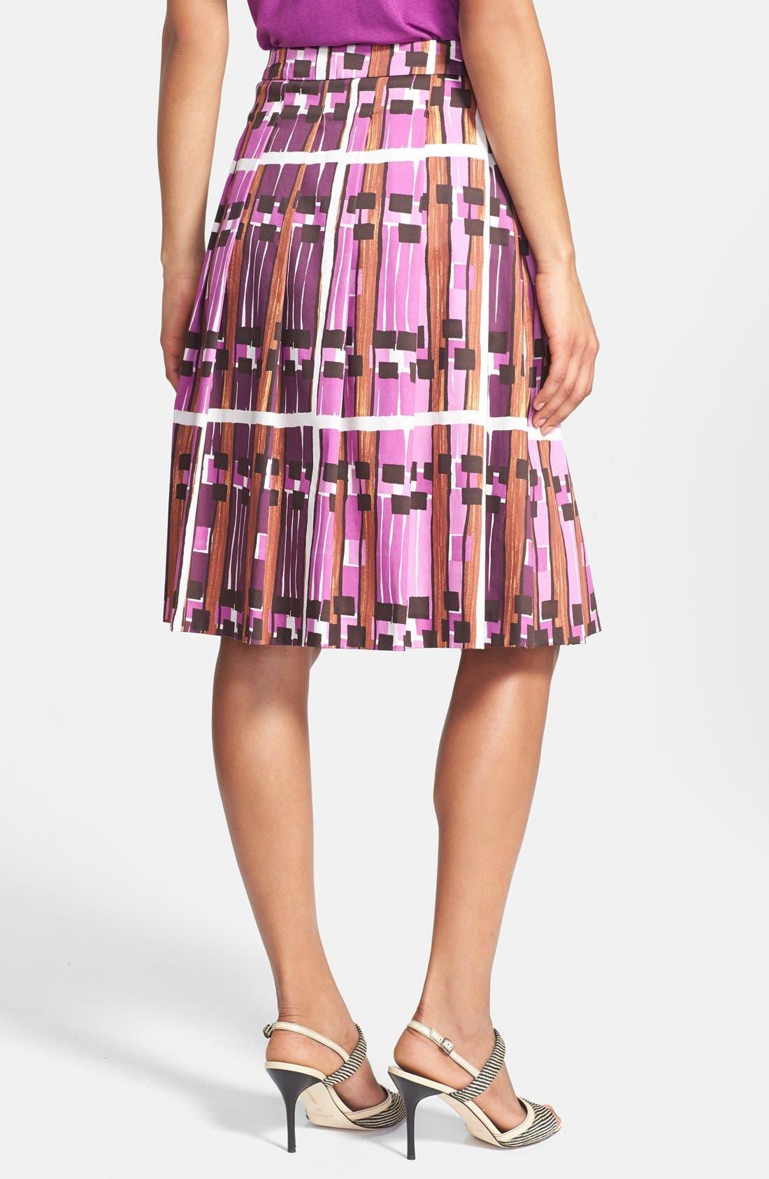 Alternate Image 2  - Weekend Max Mara 'Borgia' Print Skirt