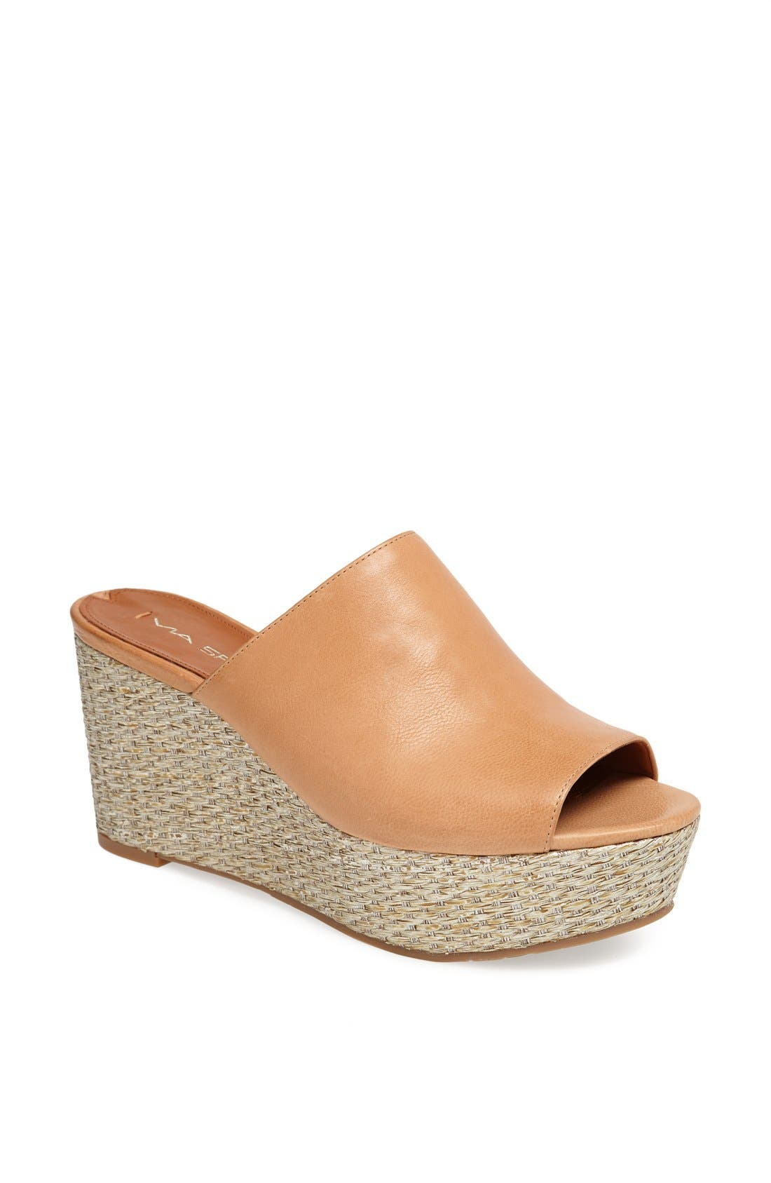 Alternate Image 1 Selected - Via Spiga 'Hale' Wedge Sandal