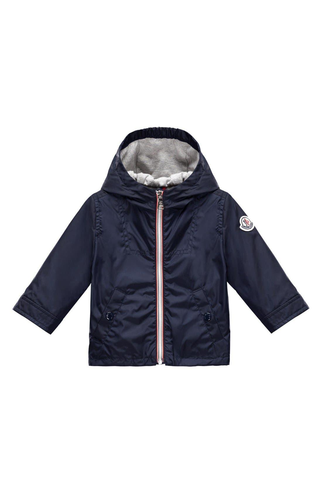 Main Image - Moncler Hooded Jacket (Baby Boys)