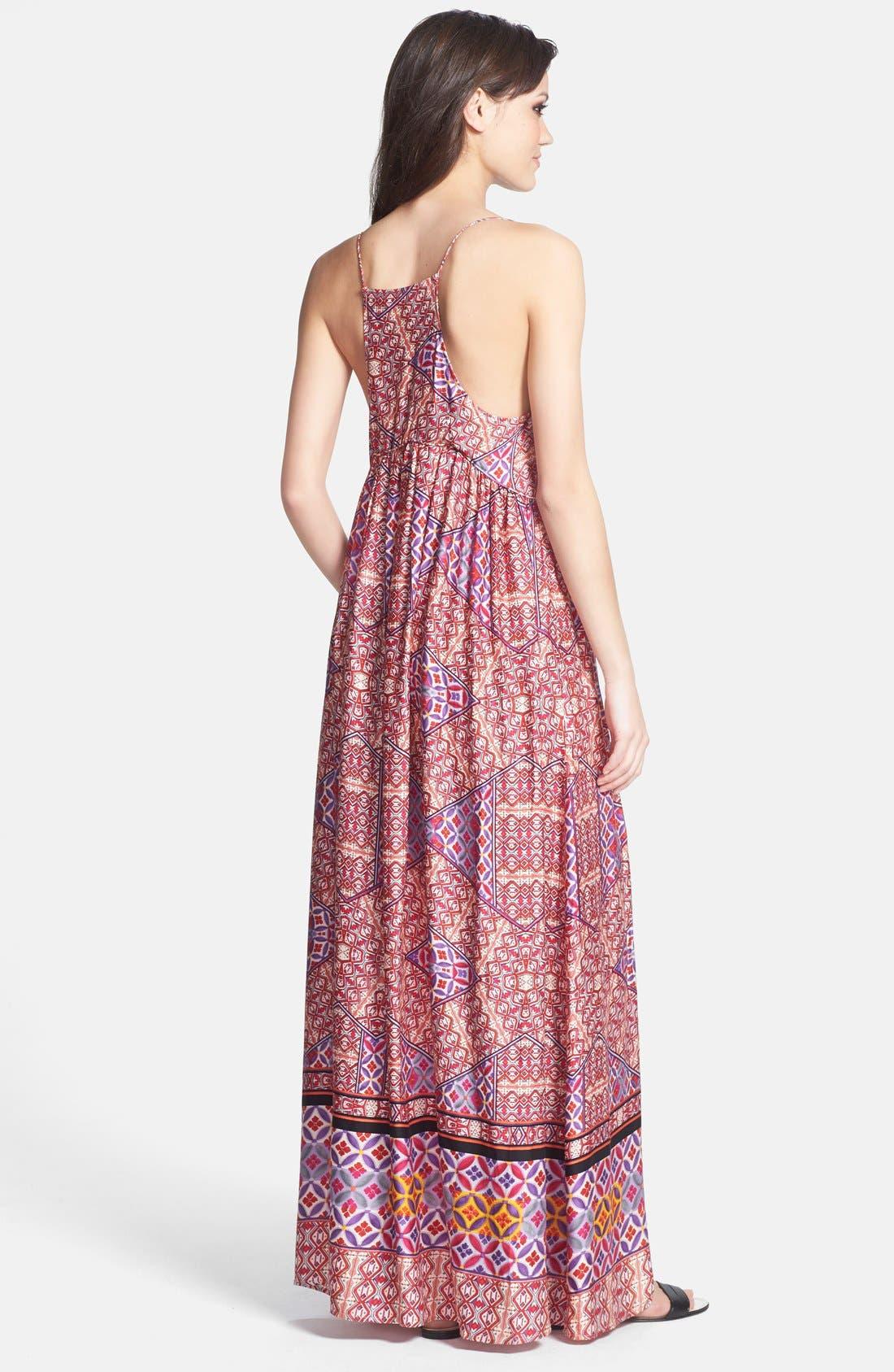Alternate Image 2  - MINKPINK Tile Print Maxi Dress