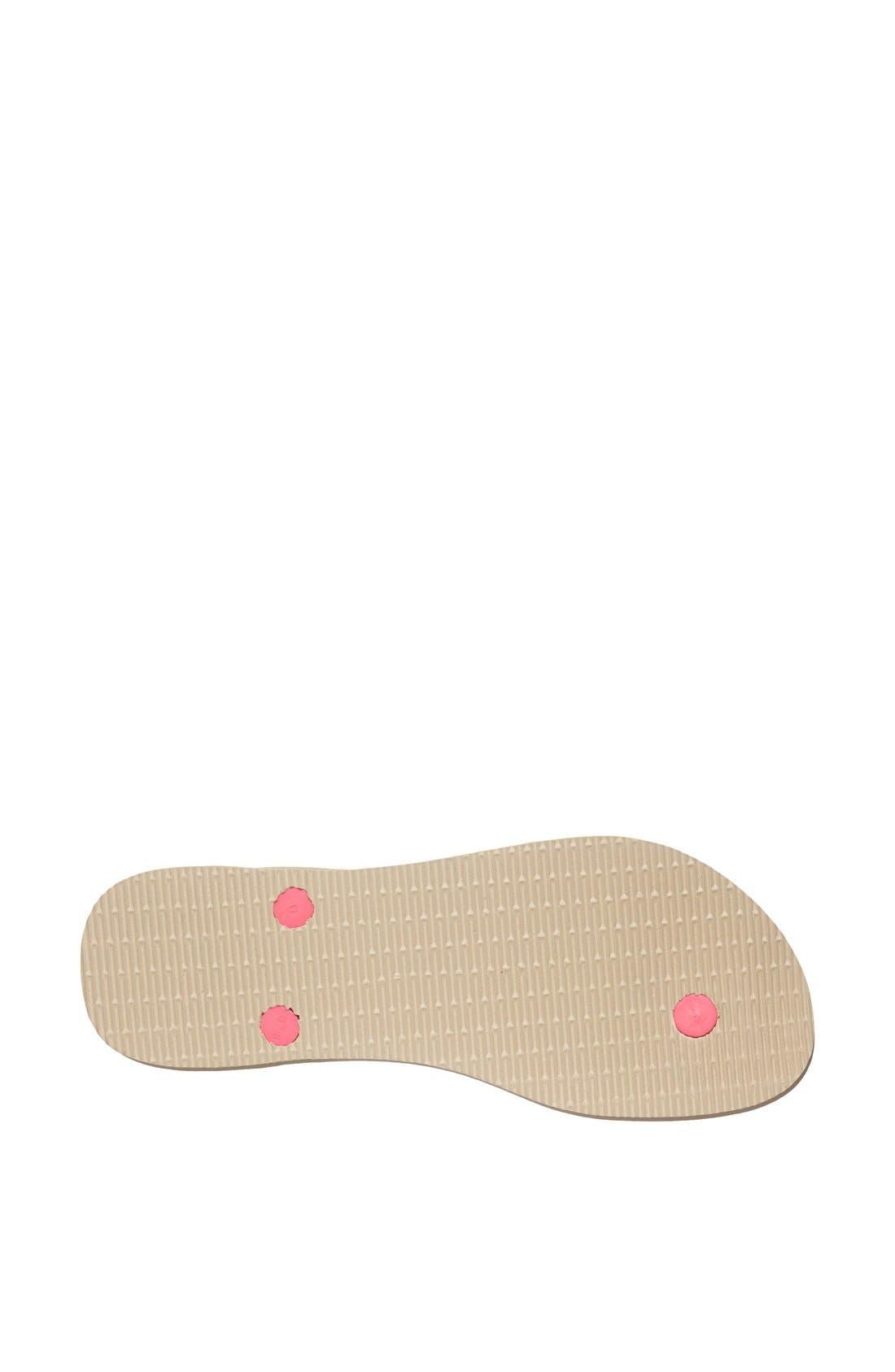 Alternate Image 4  - Havaianas 'Slim Fluorescent Animal' Sandal (Women)