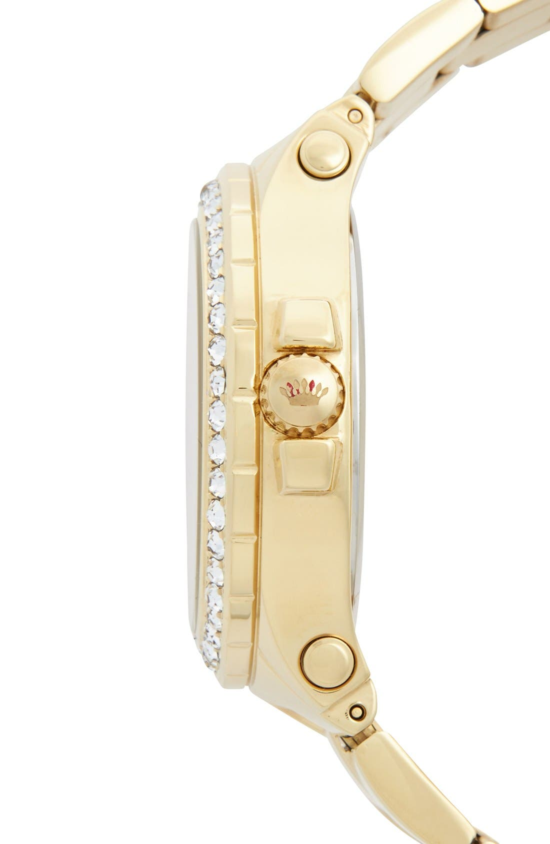 Alternate Image 3  - Juicy Couture 'Pedigree' Multifunction Bracelet Watch, 38mm