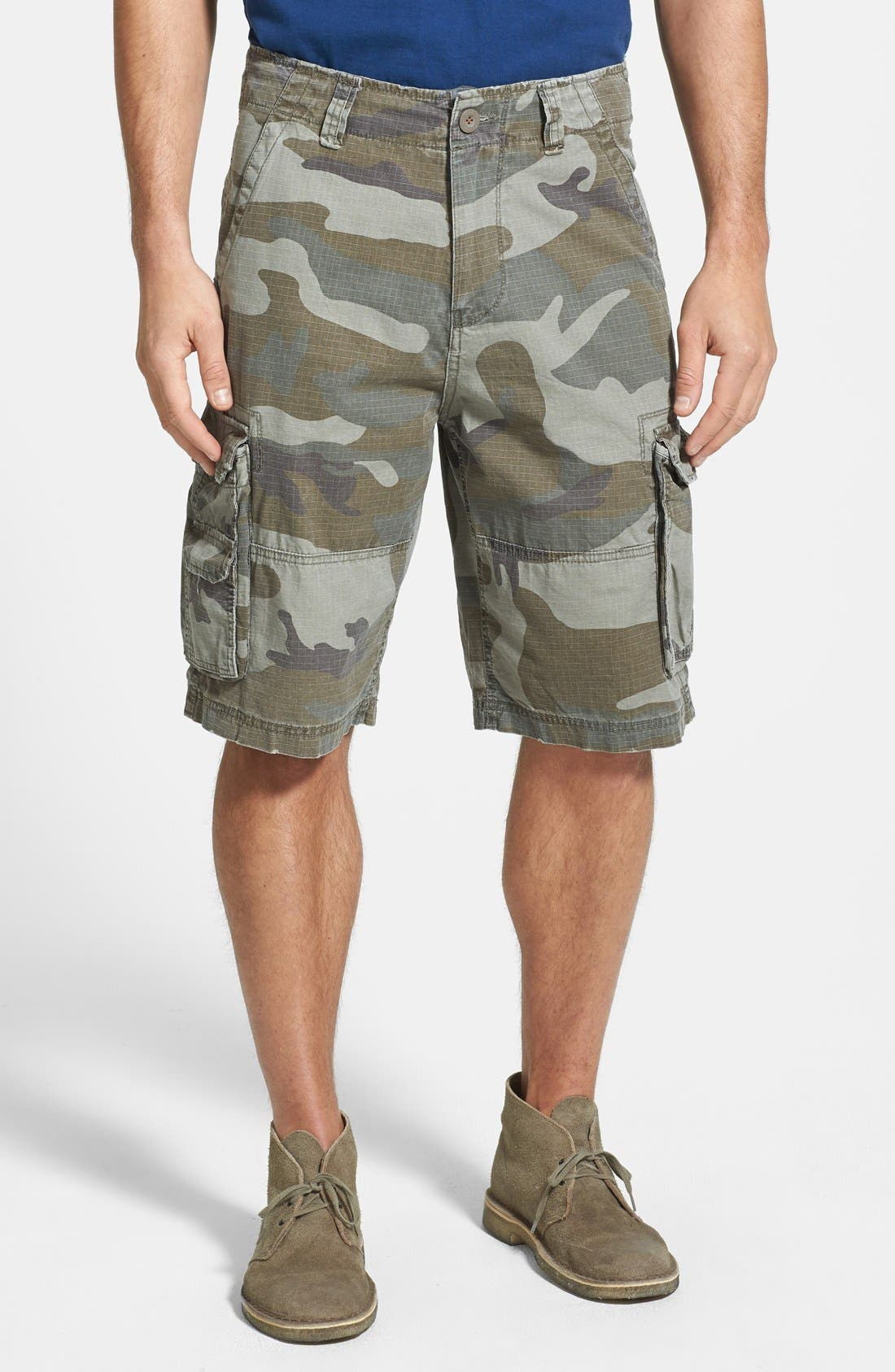 Alternate Image 1 Selected - W.R.K Ripstop Cargo Shorts