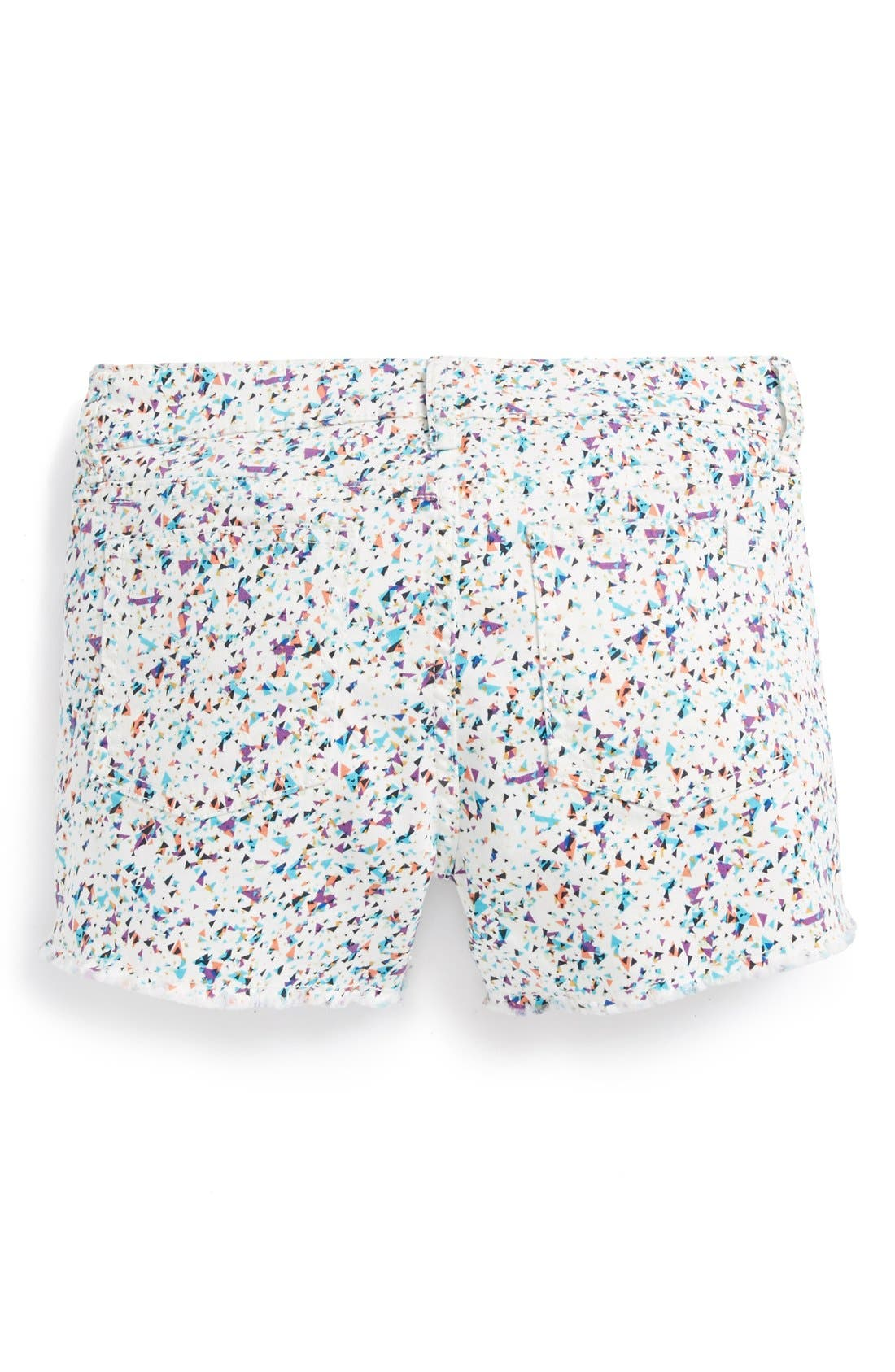 Alternate Image 1 Selected - Joe's Frayed Shorts (Big Girls)