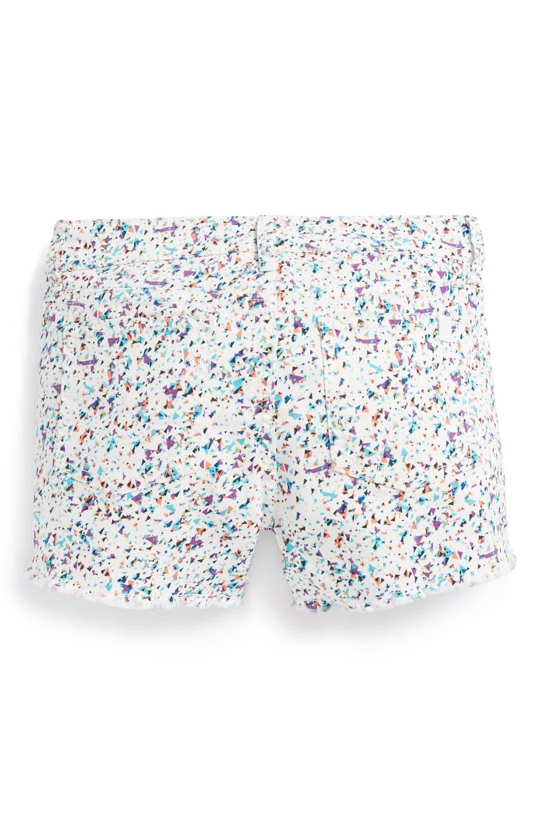 Main Image - Joe's Frayed Shorts (Big Girls)