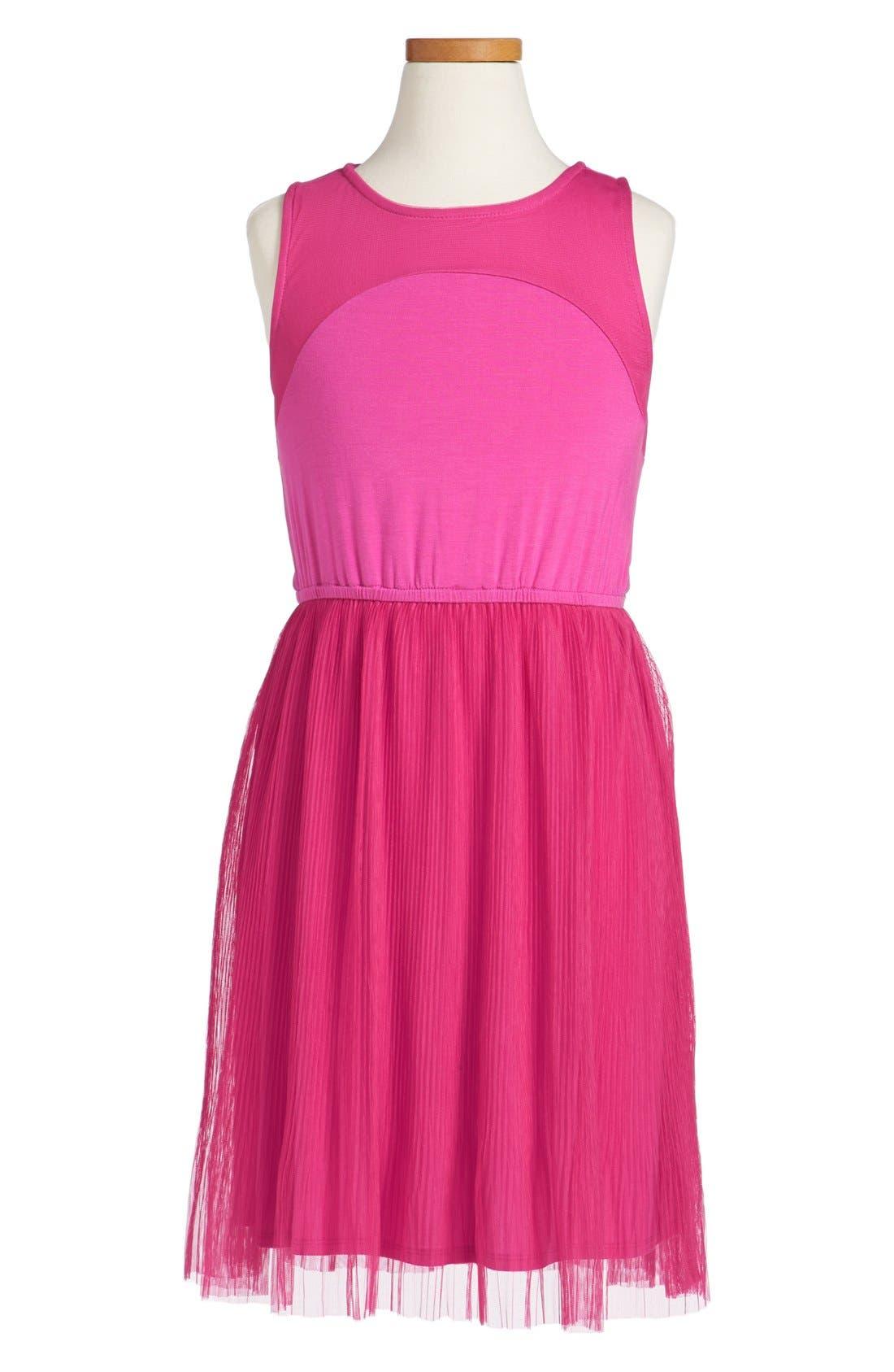Main Image - Ella Moss Tank Dress (Big Girls)
