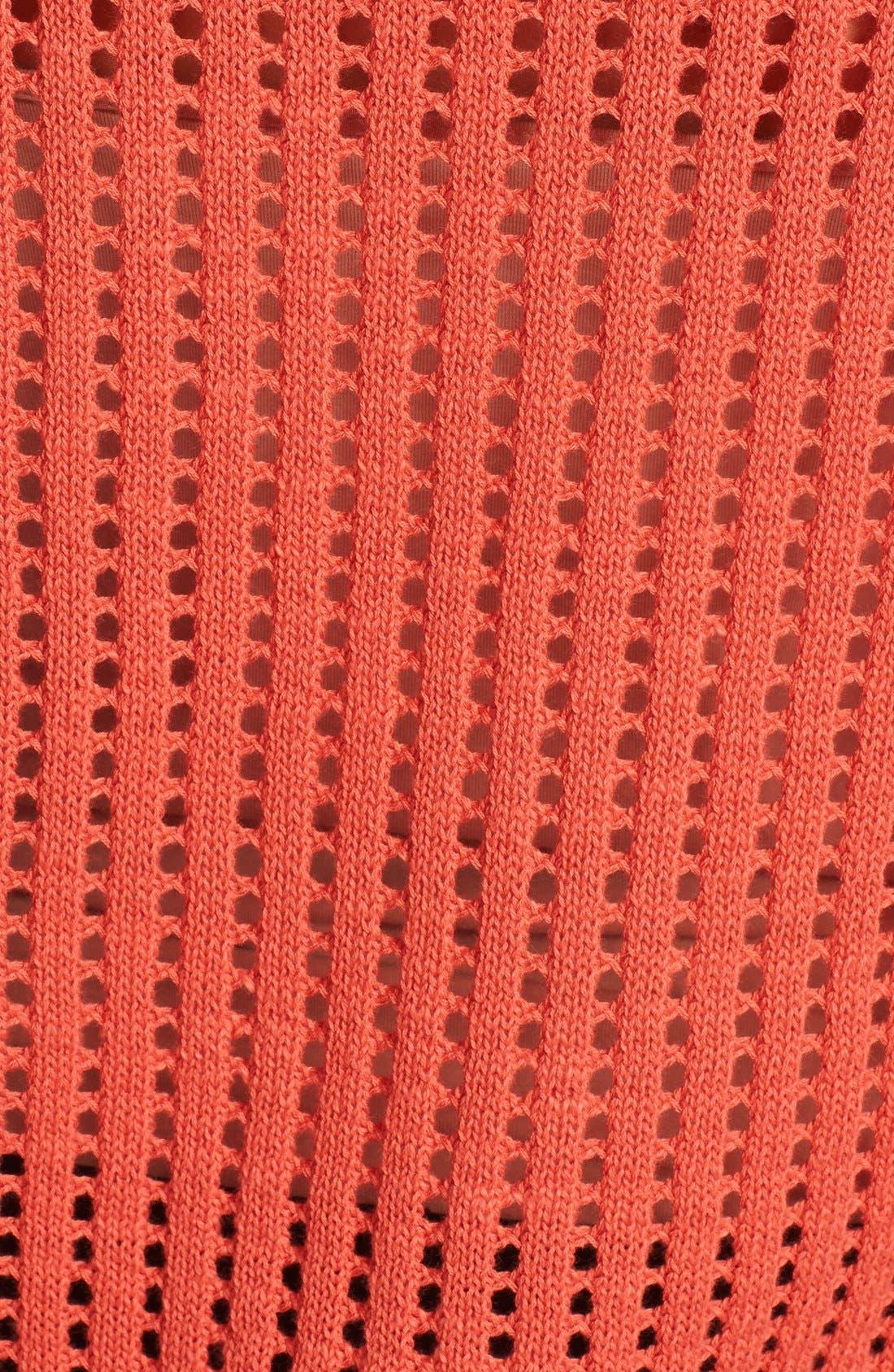 Alternate Image 3  - Hinge® Mix Knit Sweater