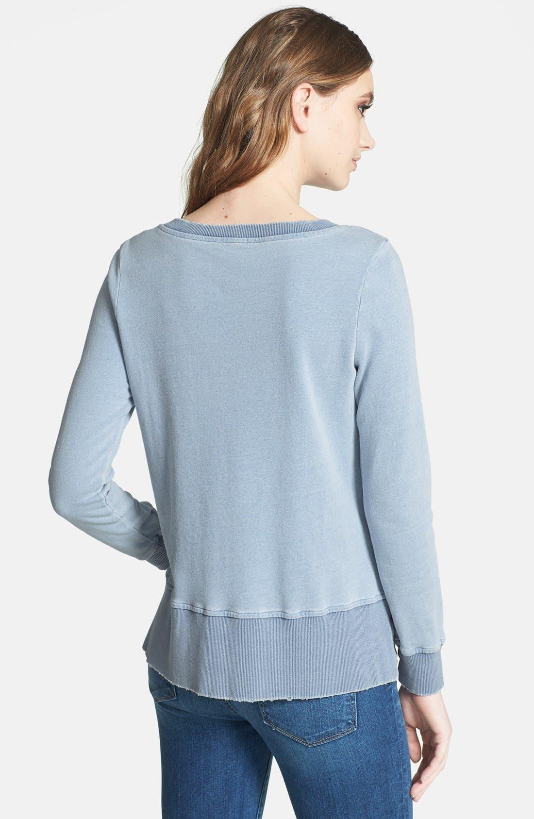 Alternate Image 2  - Splendid French Terry Sweatshirt