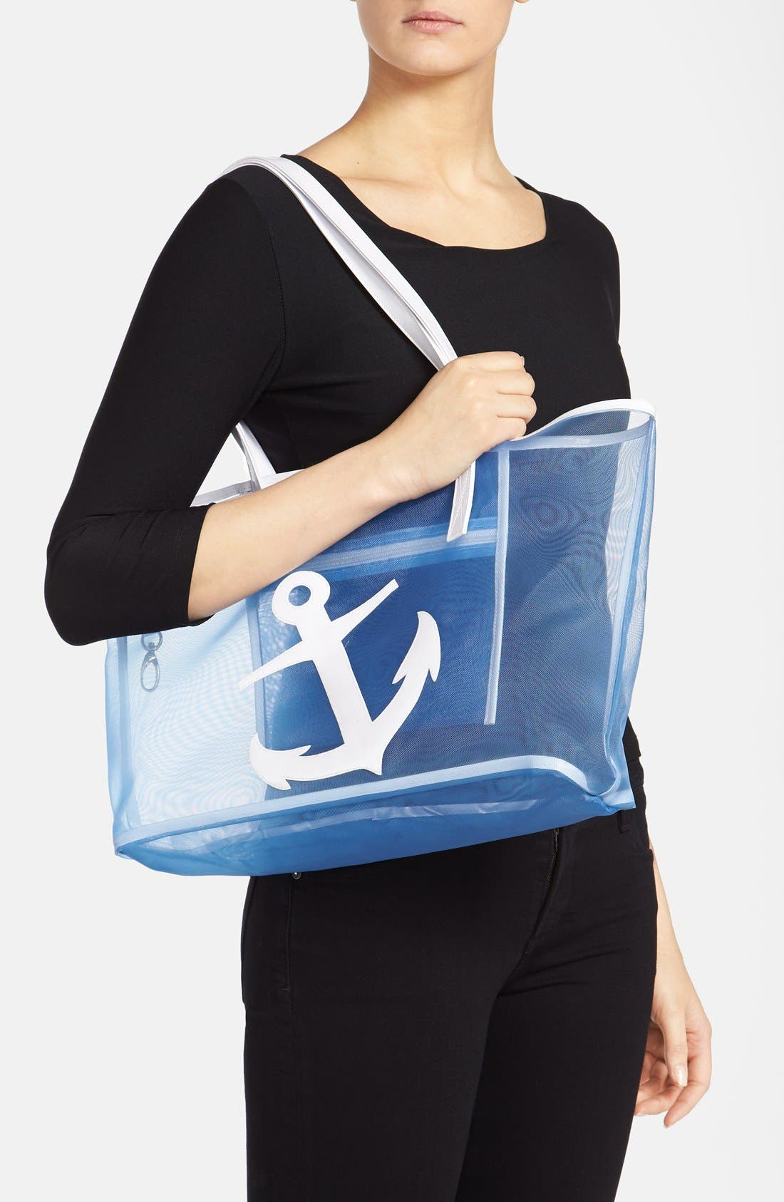 Alternate Image 2  - Lolo 'Amy - Anchor' Mesh Tote