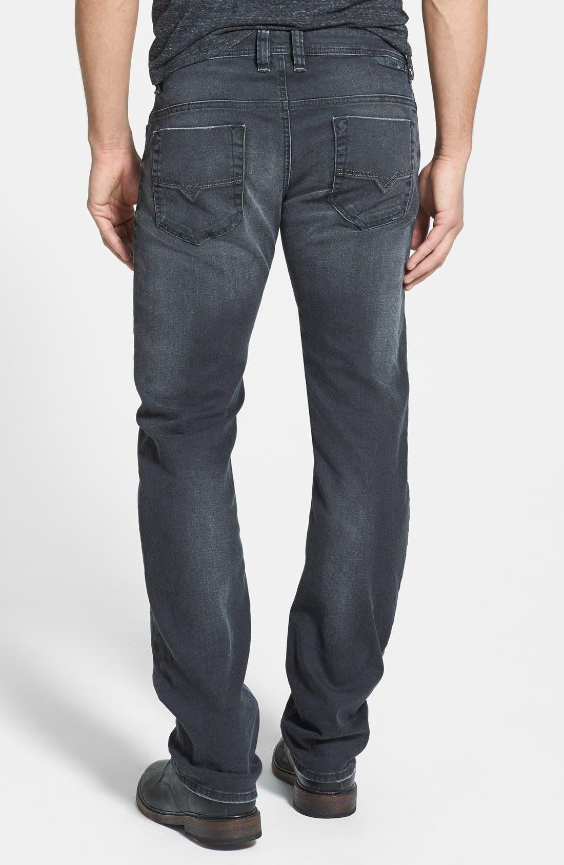 Alternate Image 2  - DIESEL® 'Safado' Slim Fit Jeans (Black)