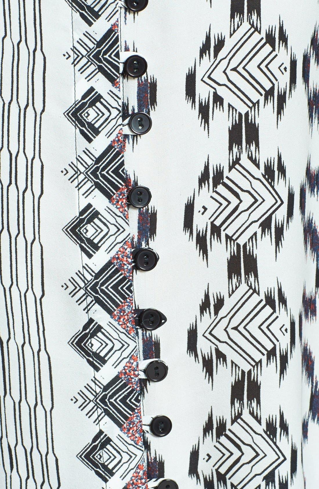 Alternate Image 3  - Parker 'Brooklyn' Print Silk Top