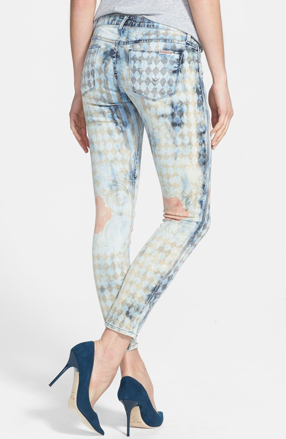 Alternate Image 2  - Hudson Jeans 'Krista' Super Skinny Jeans (Treasure)