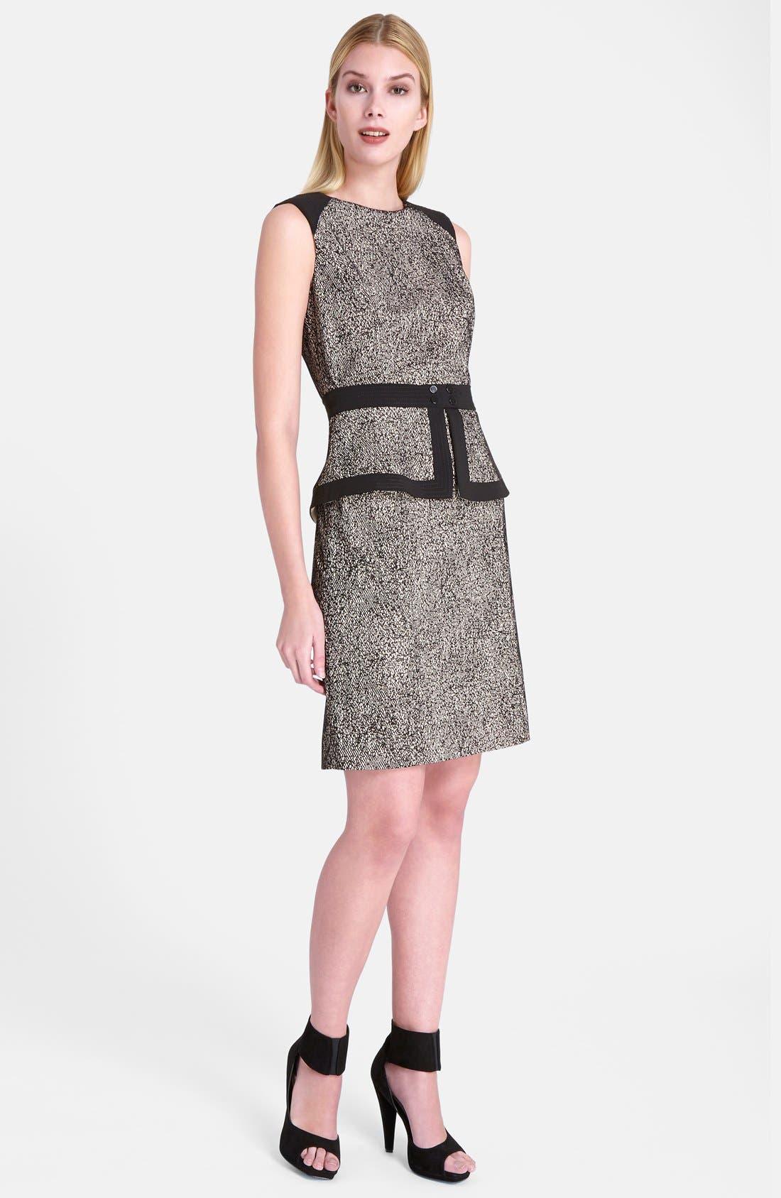Alternate Image 1 Selected - Catherine Catherine Malandrino 'Veronica' Peplum Sheath Dress