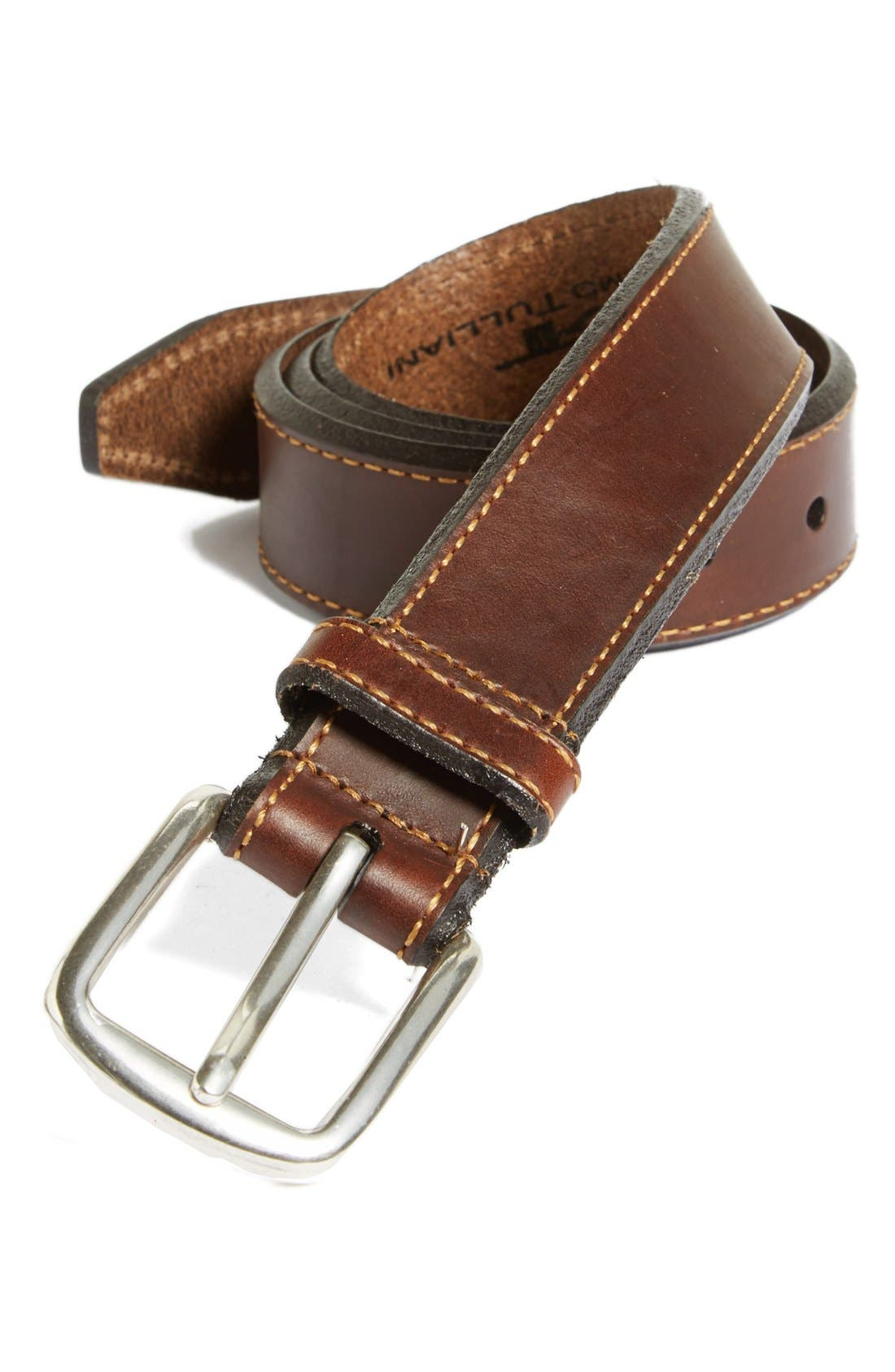 Alternate Image 1 Selected - Remo Tulliani 'Andretti' Leather Belt