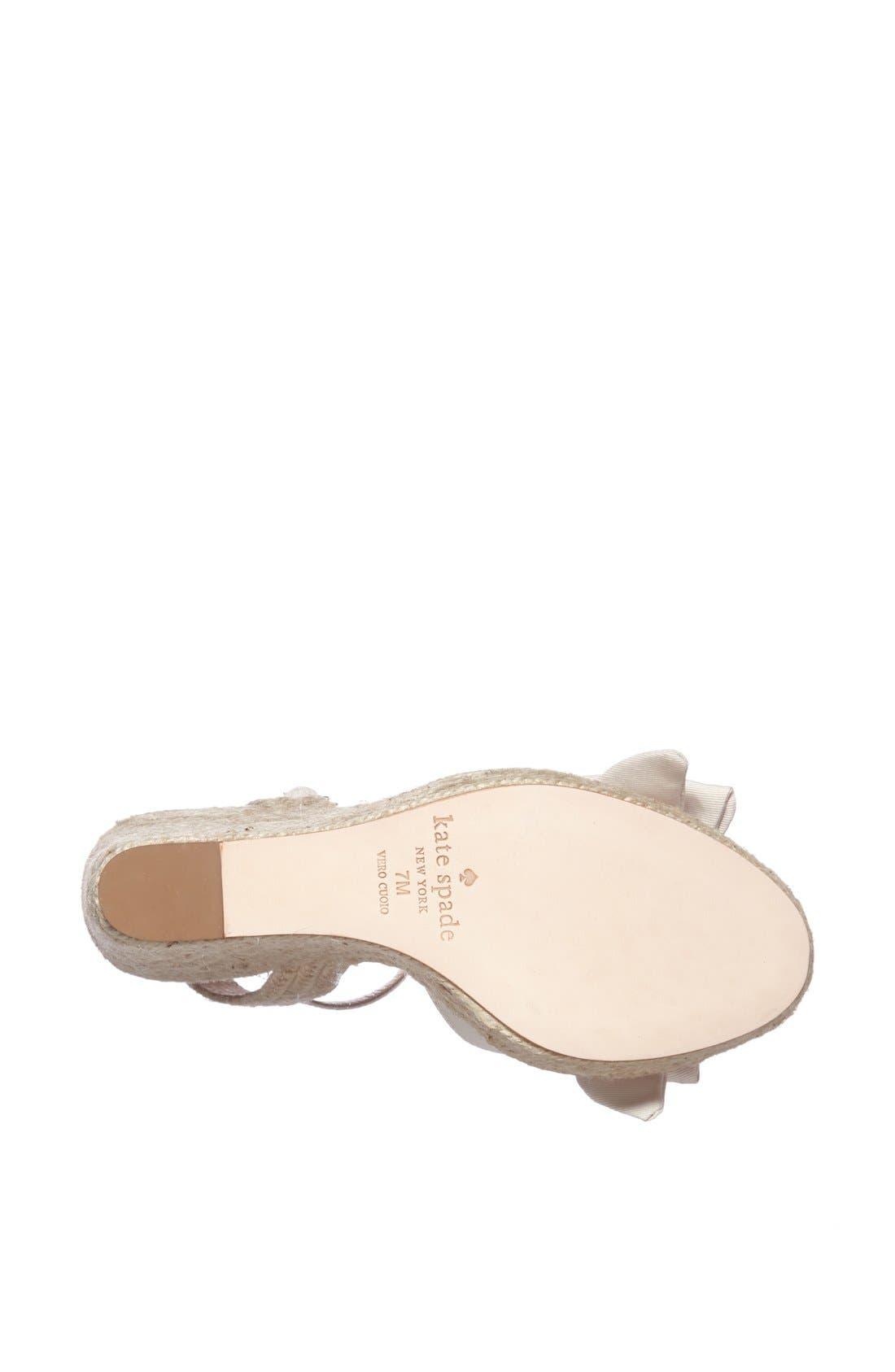 Alternate Image 4  - kate spade new york 'jumper' sandal