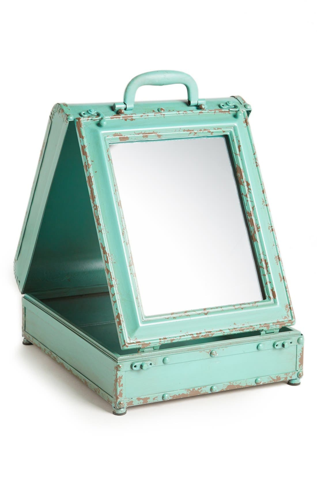 Main Image - Creative Co-Op Folding Trunk Mirror