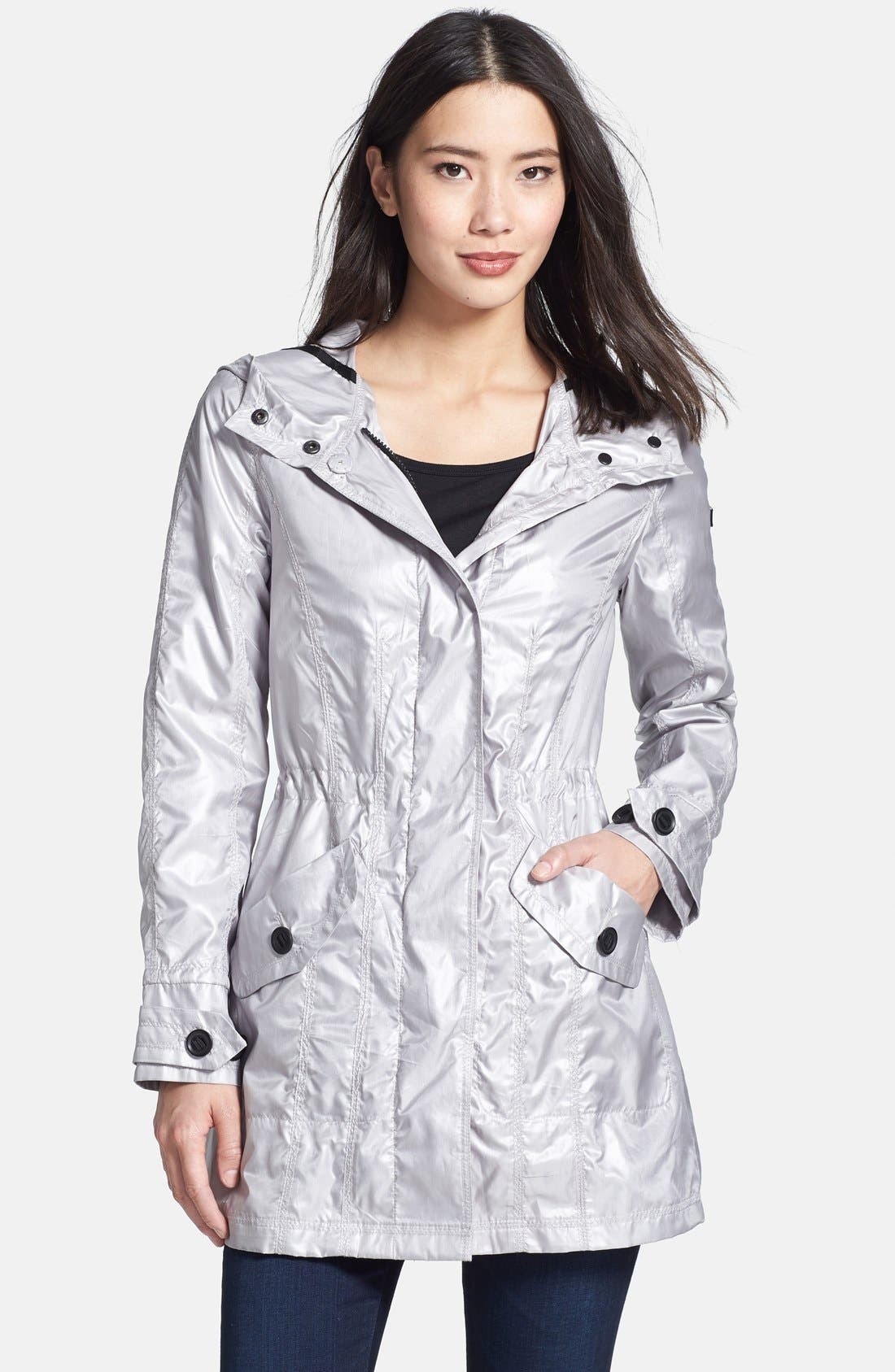 Alternate Image 1 Selected - Vince Camuto Hooded Anorak