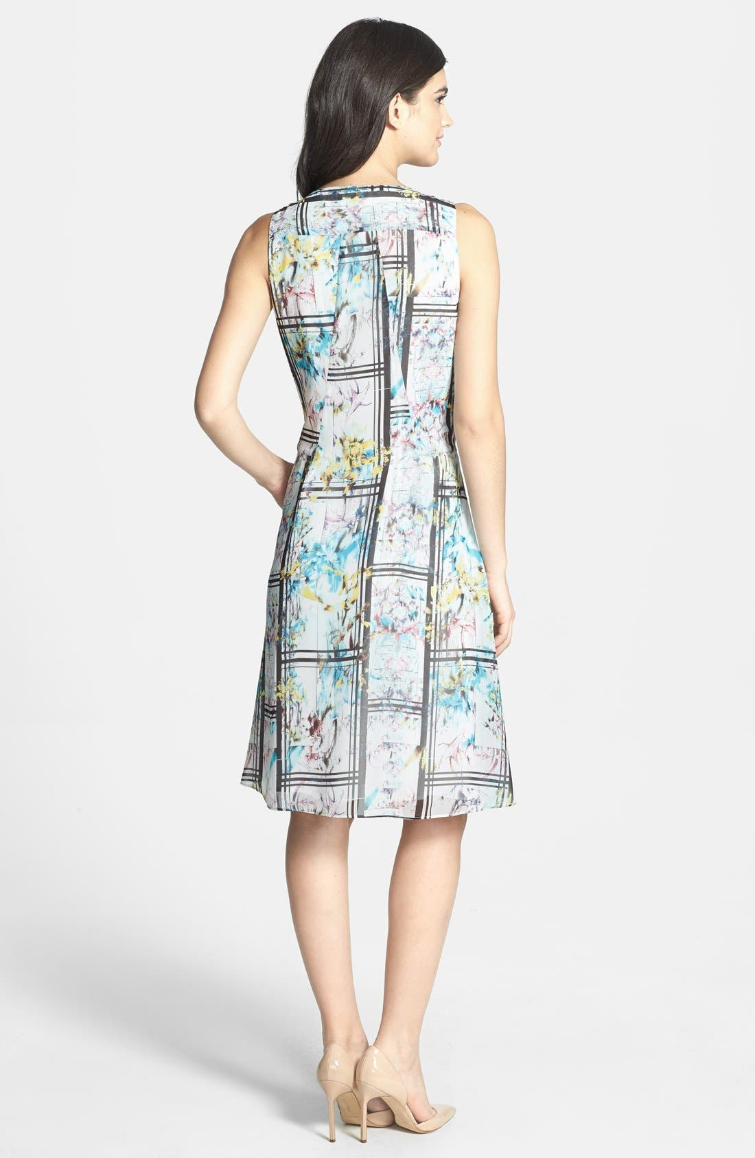 Alternate Image 2  - Chelsea28 Photorealistic Print Fit & Flare Dress