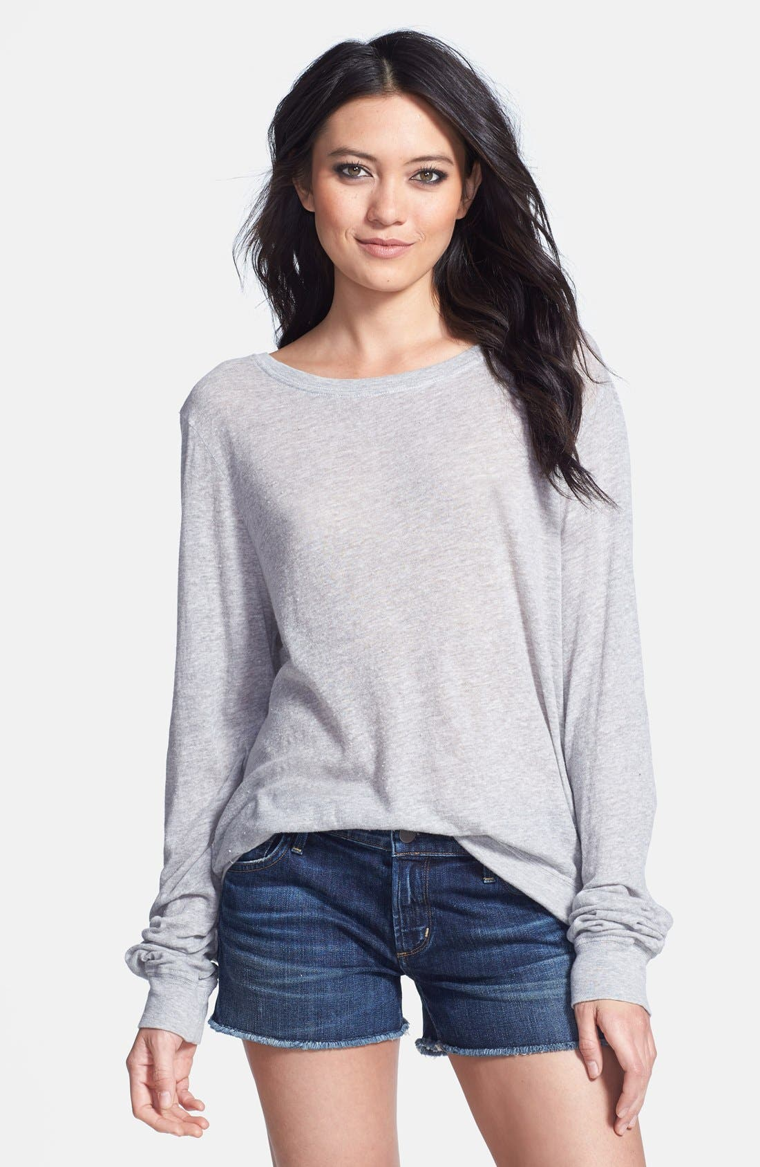 Main Image - Wildfox Heathered Jersey Pullover