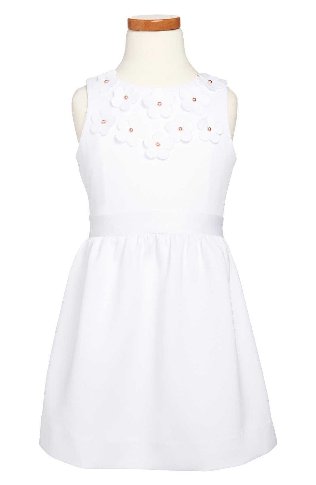 Main Image - Milly Minis Sleeveless Dress (Toddler Girls & Big Girls)