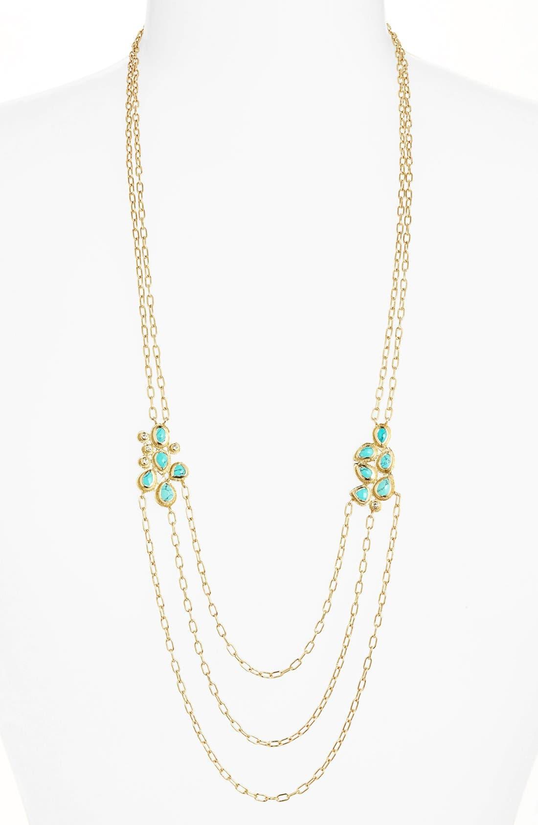 Main Image - Melinda Maria 'Mosaic - Josephine' Multistrand Necklace