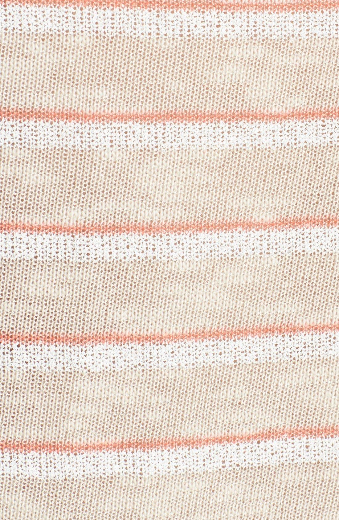 Alternate Image 3  - Splendid Stripe V-Neck Sweater
