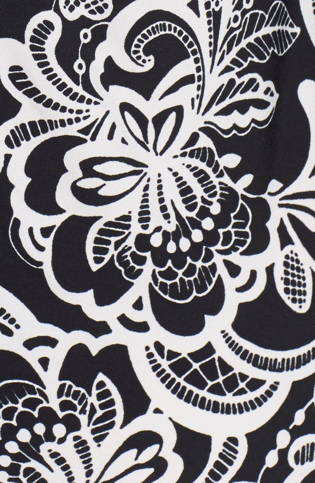 Alternate Image 4  - Eliza J Print Jersey Shift Dress