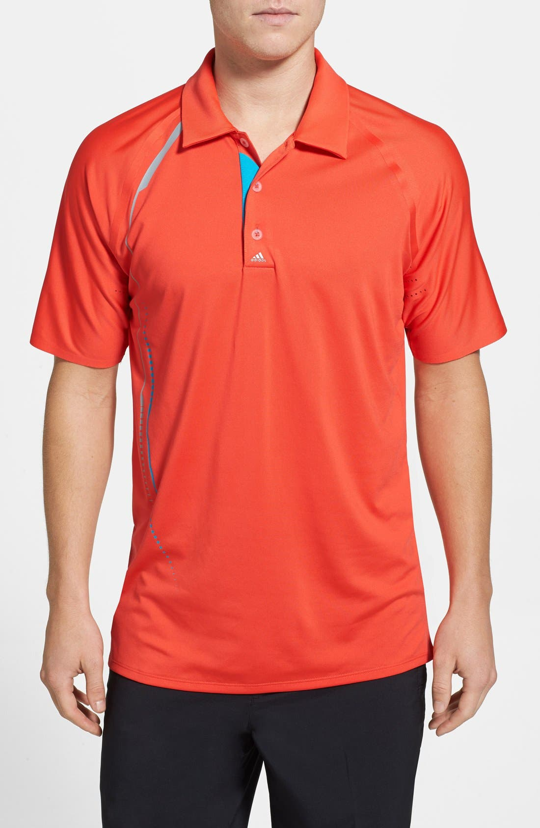 Alternate Image 1 Selected - adidas Modern Fit CLIMACOOL® Print Polo