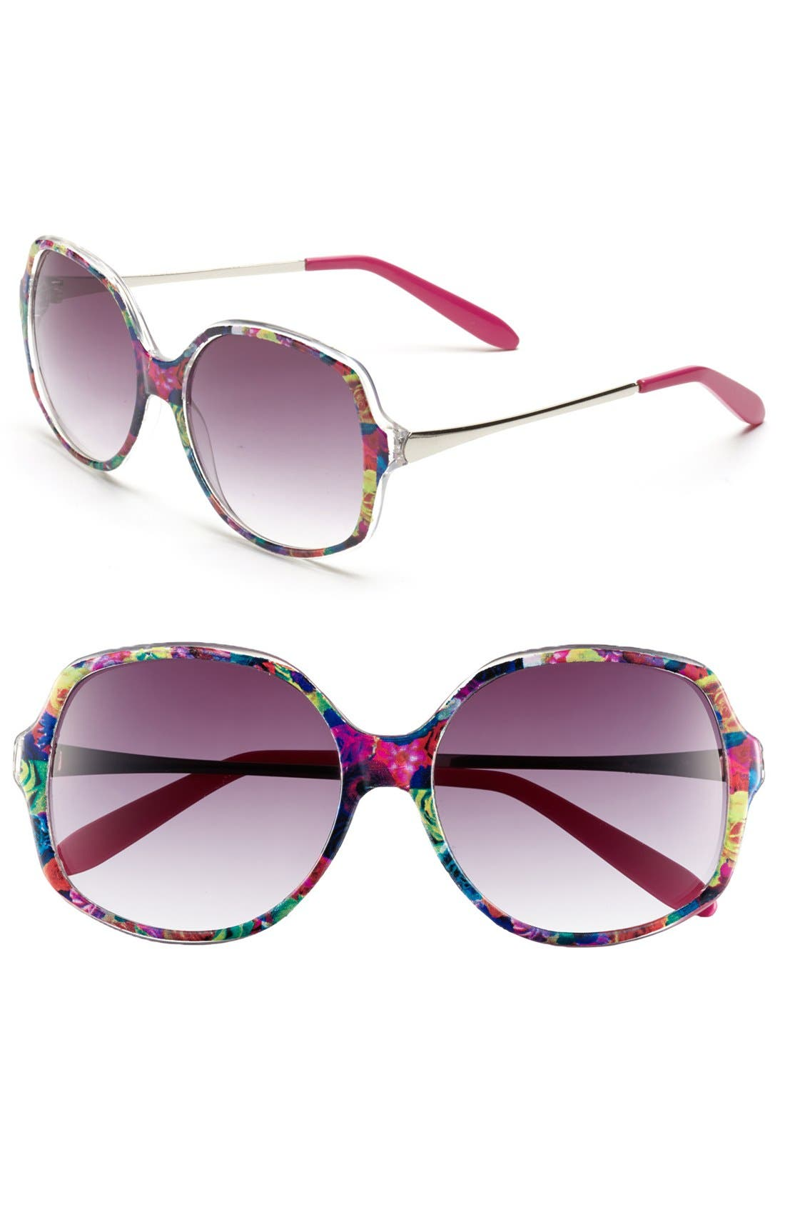 Alternate Image 1 Selected - Outlook Eyewear 'Point' 57mm Sunglasses