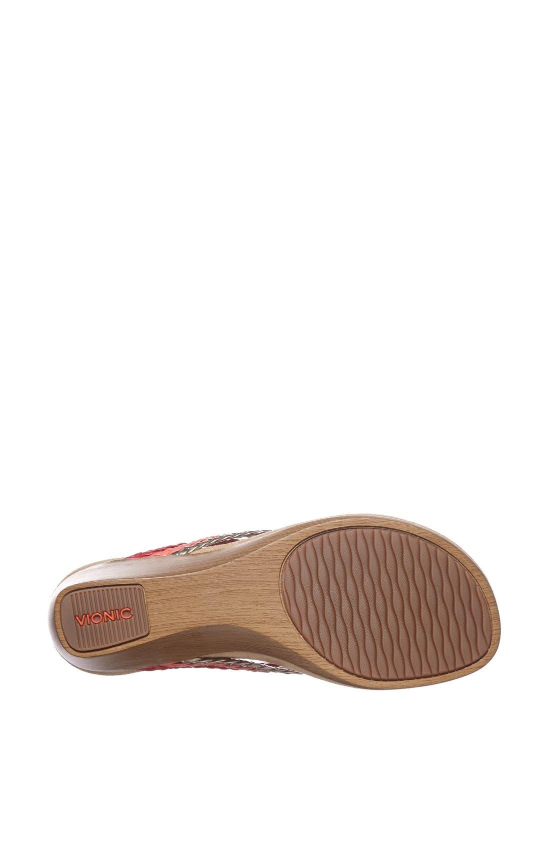 Alternate Image 4  - Vionic 'Ramba' Wedge Sandal