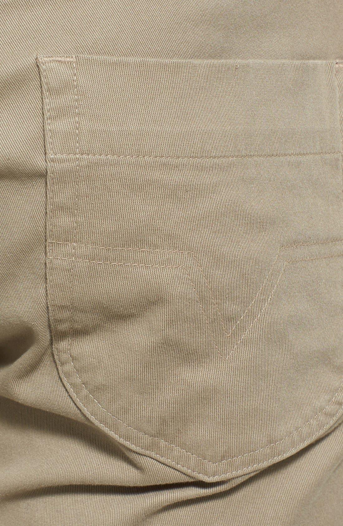Alternate Image 4  - Vince Five Pocket Stretch Cotton Straight Leg Pants