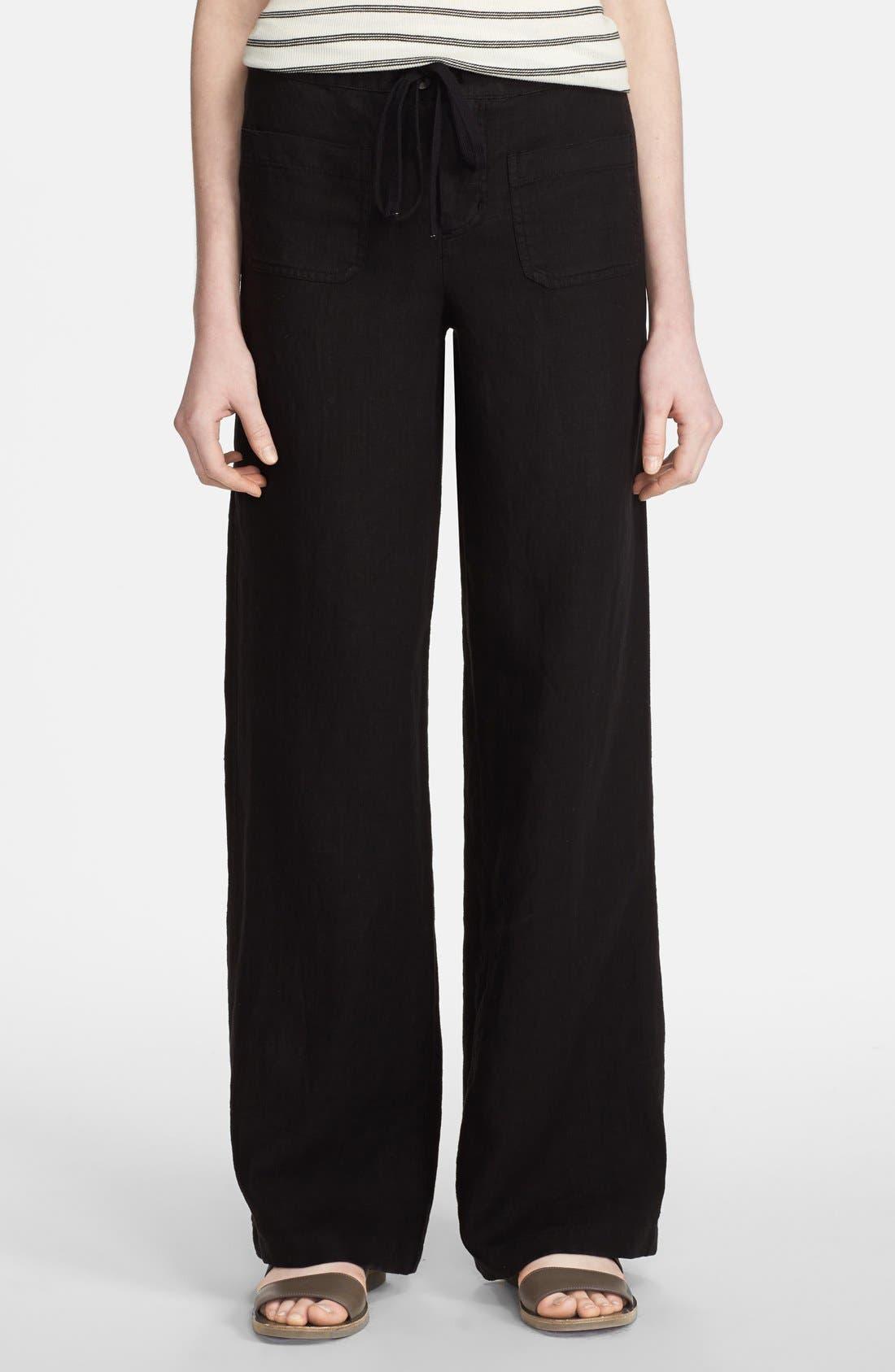 Alternate Image 1 Selected - Vince 'Beach' Linen Pants